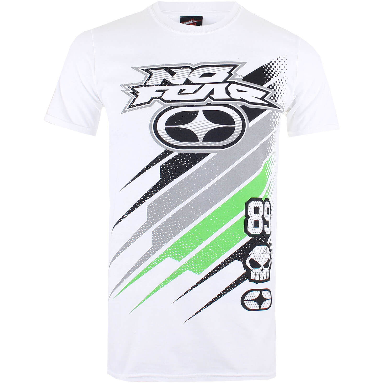 T-Shirt Homme No Fear Race Jersey - Blanc