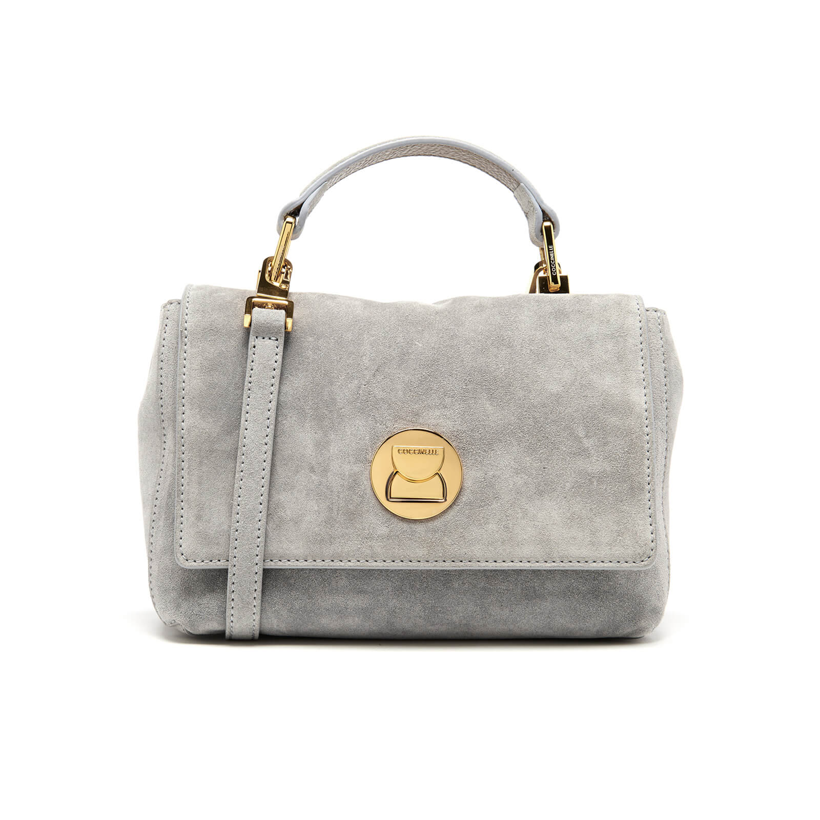 ab8236cee Coccinelle Women's Liya Suede Mini Bag - Iris Womens Accessories |  TheHut.com