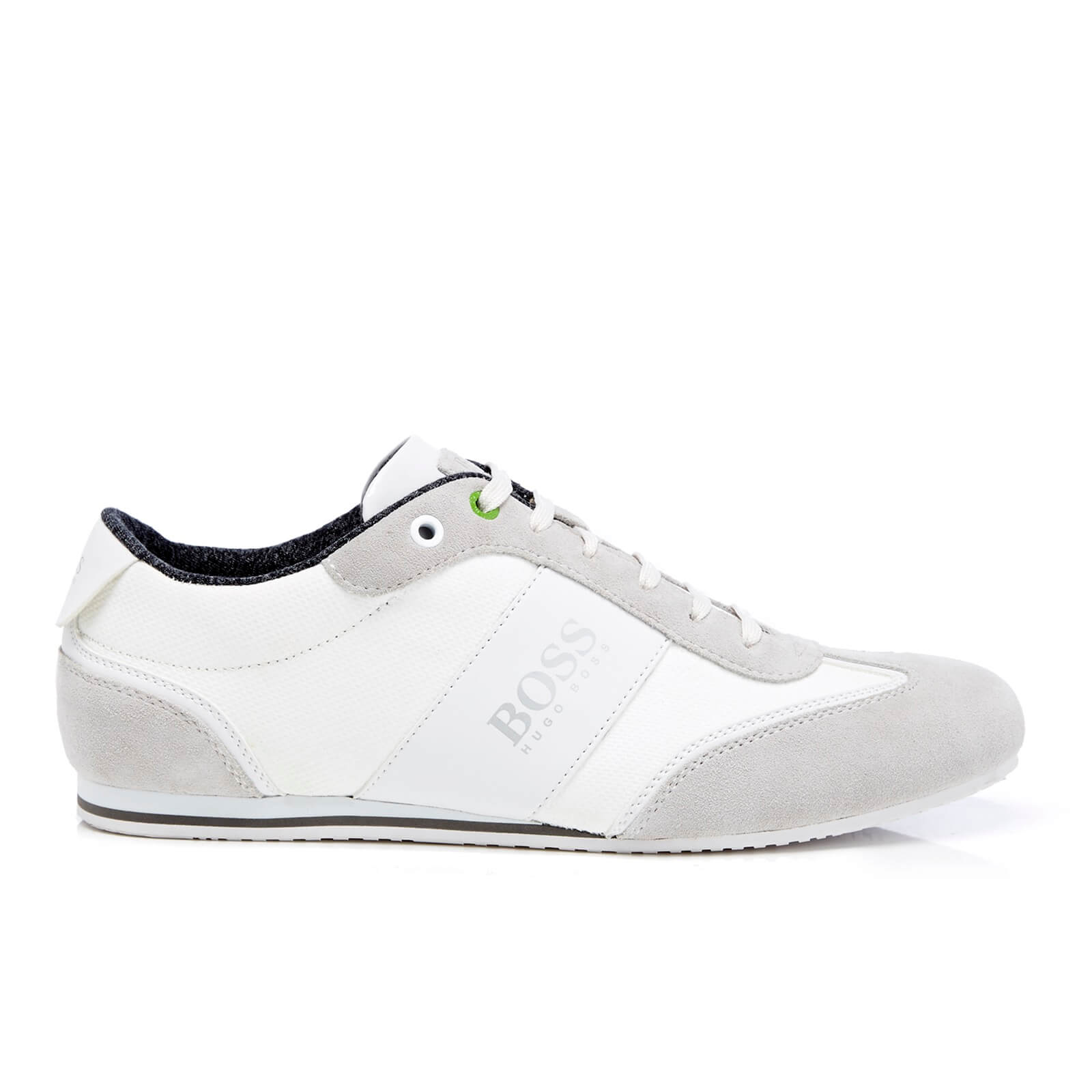 boy 60% cheap fast delivery BOSS Green Men's Lighter Low Top Trainers - White