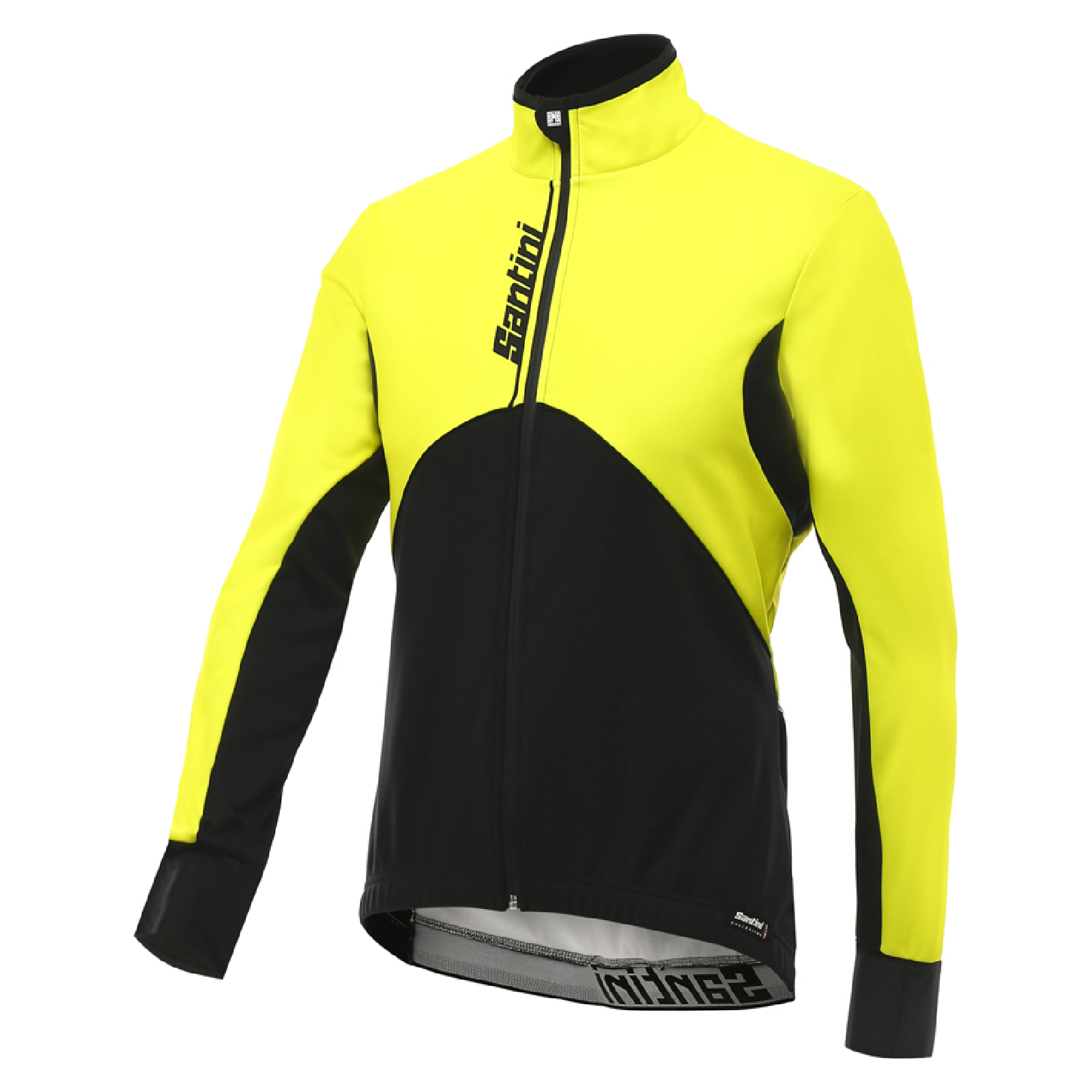 5341d8452b426 Santini Impero Winter Jacket - Yellow | ProBikeKit.com
