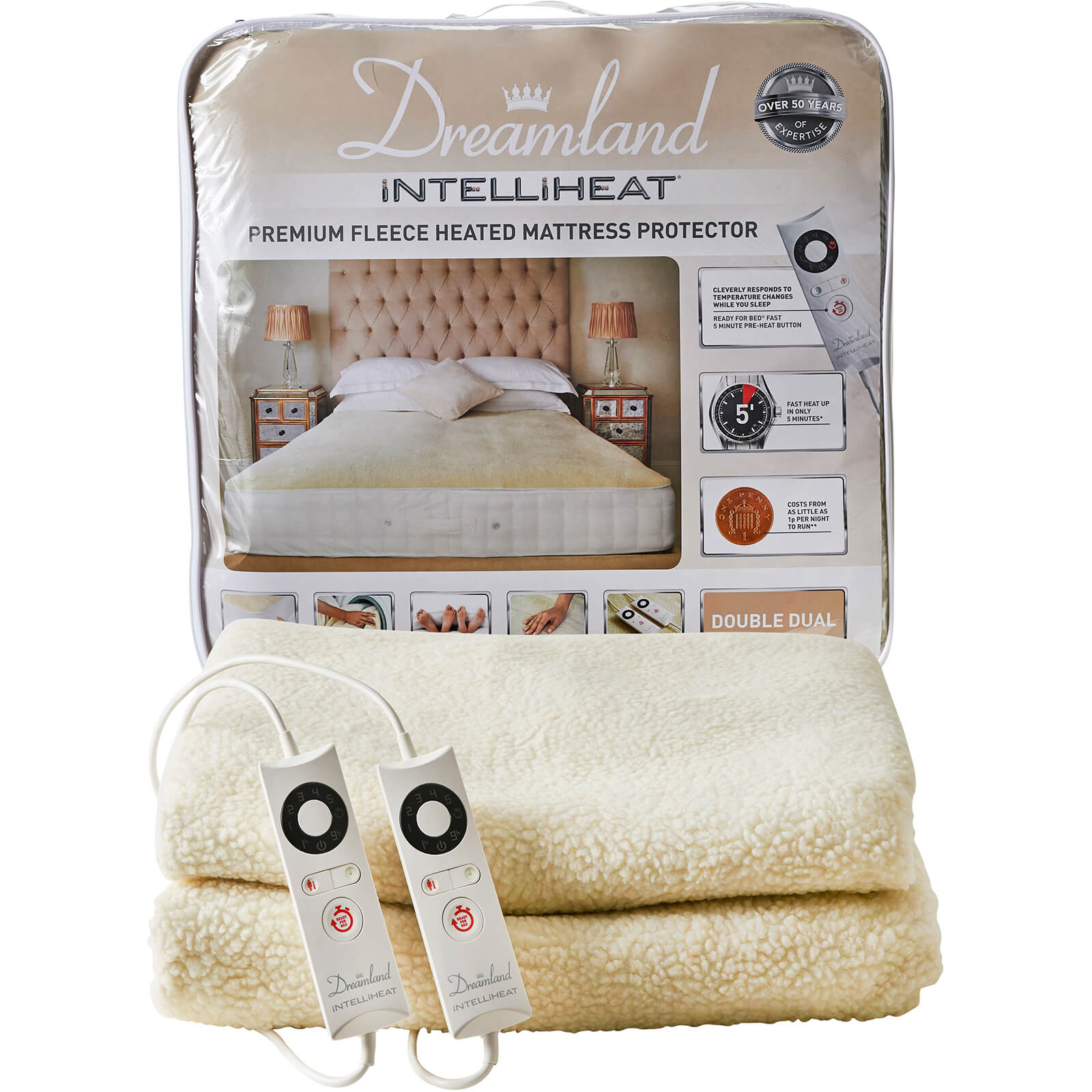 Dreamland Sleepwell Intelliheat Heated