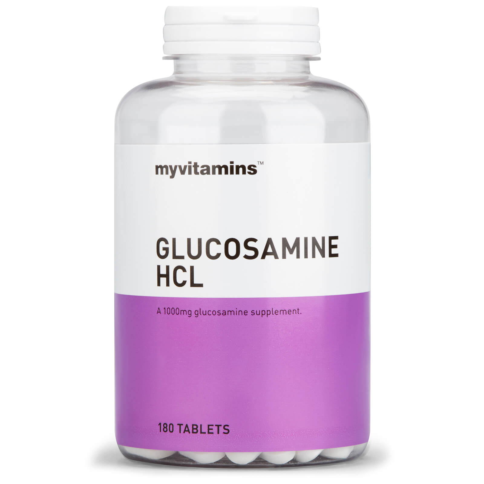 Glucosamine HCl, 60 Tablets