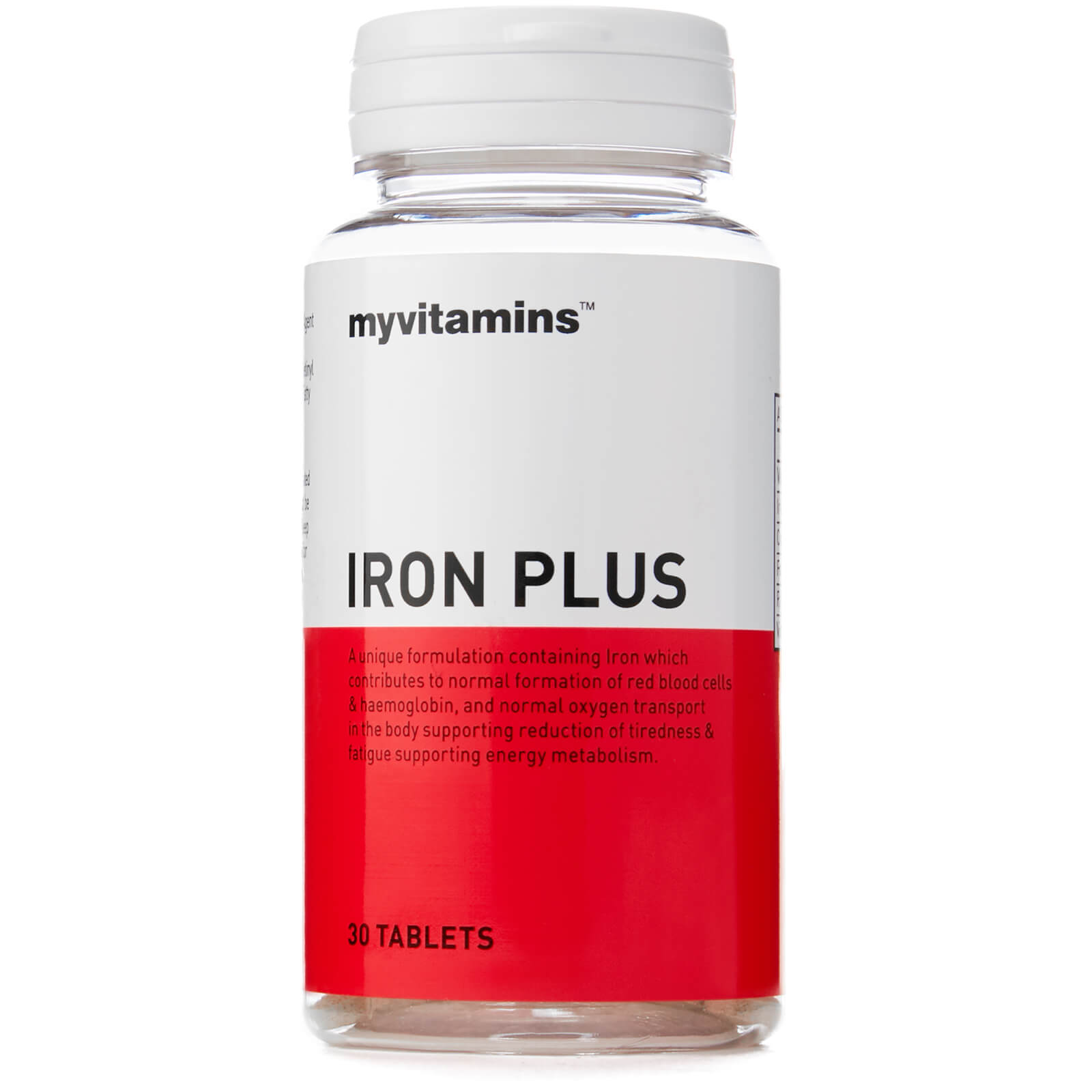 Iron, 30 Tablets