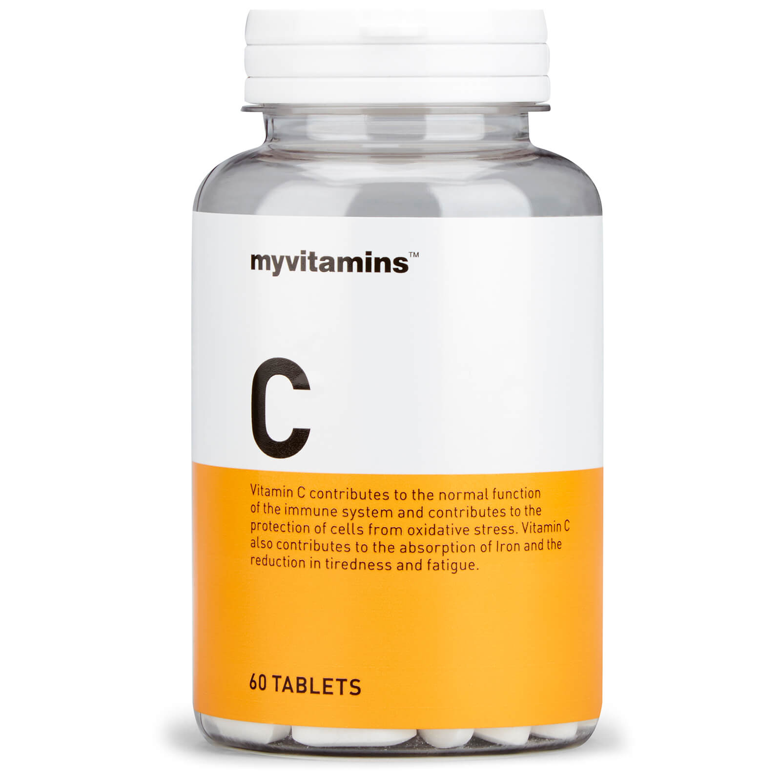 Vitamin C with Bioflavonoids & Rosehip, 60 Tablets