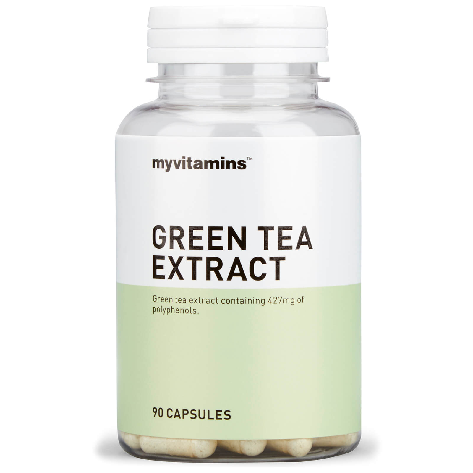 Super Green Tea Extract, 30 Capsules
