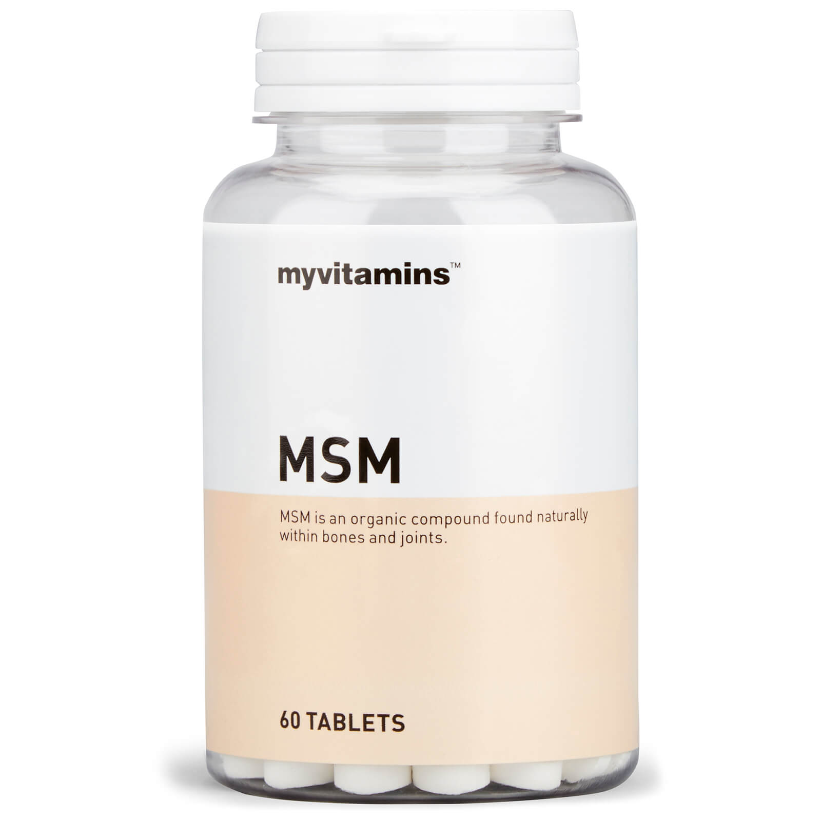 MSM, 60 Tablets