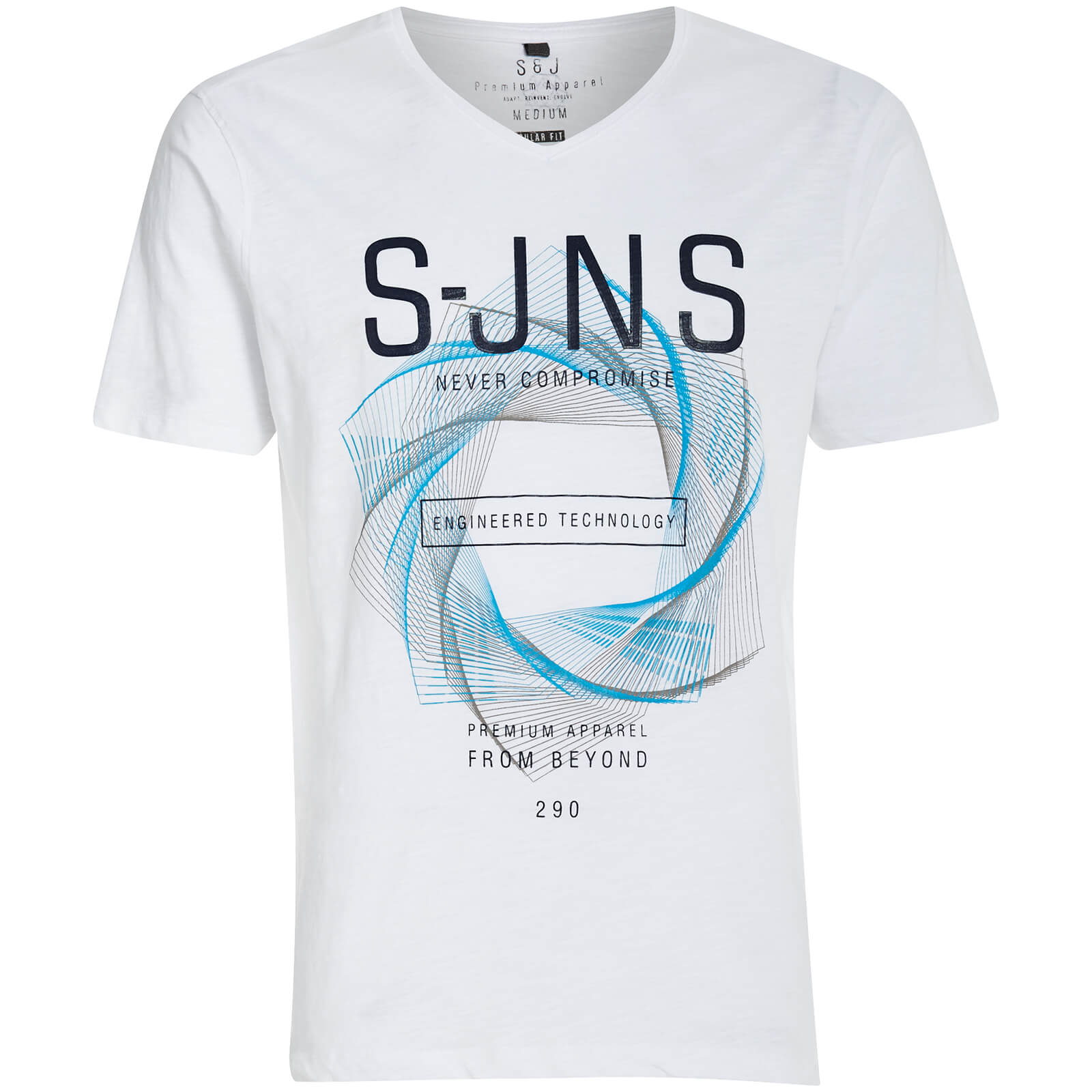 Camiseta Smith & Jones Colossus - Hombre - Blanco