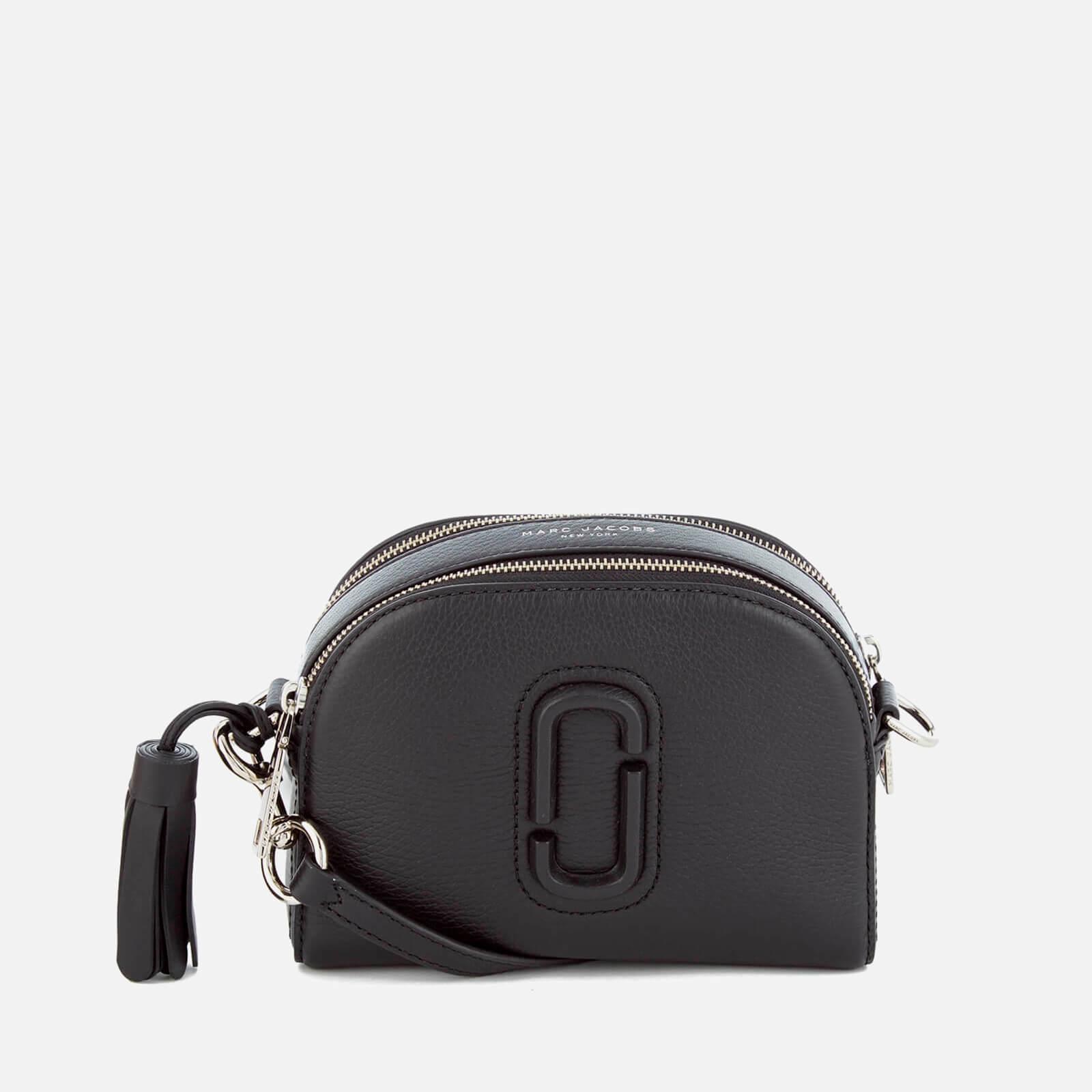 b5c694193 Marc Jacobs Women's Shutter Leather Shoulder Cross Body Bag - Black - Free  UK Delivery over £50