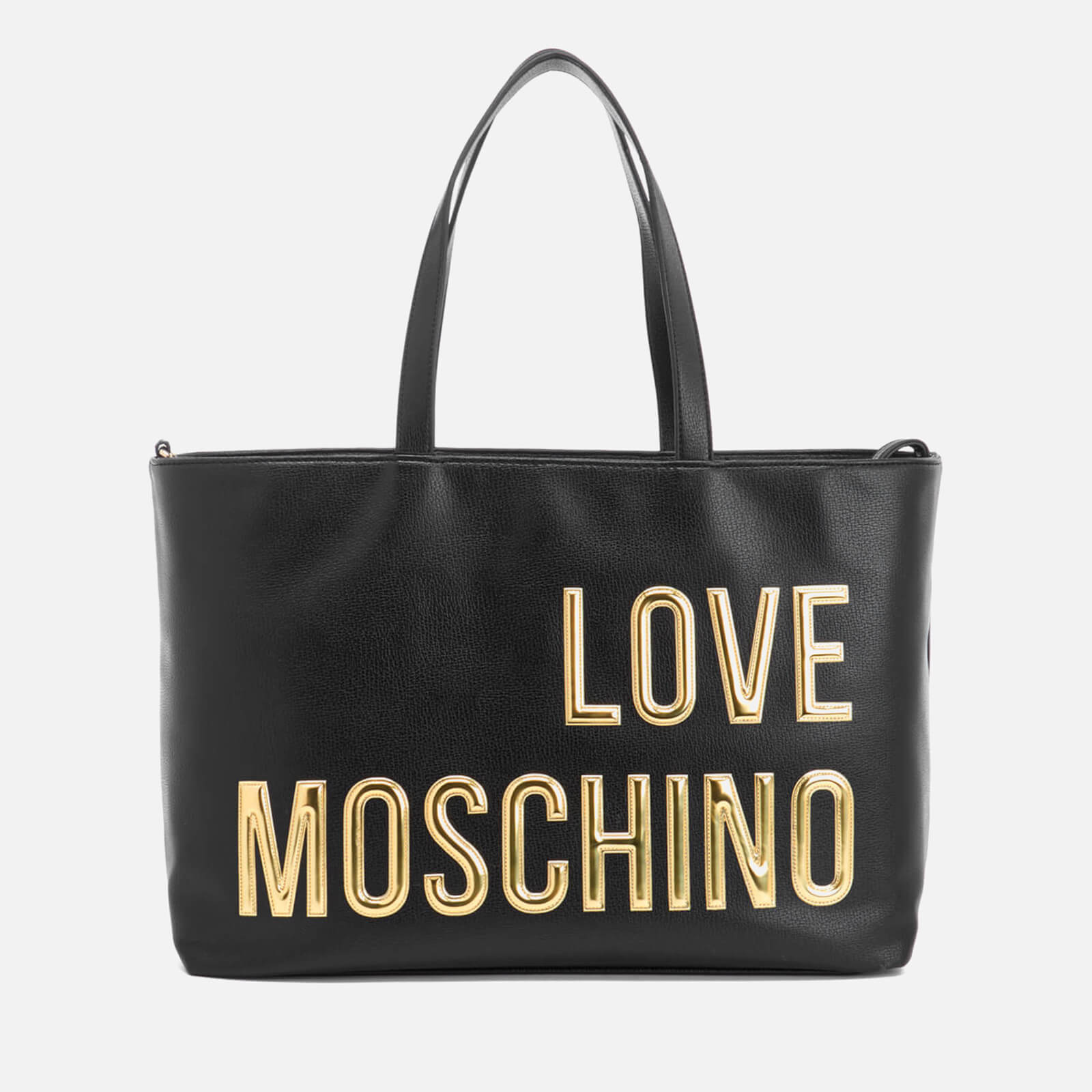 Love Moschino Women s Logo Tote Bag - Black - Free UK Delivery over £50 b6cb126ac97