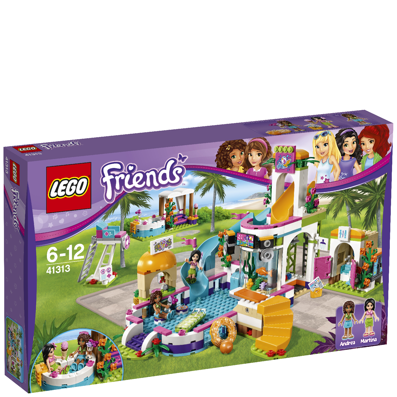 LEGO Friends: La piscine d