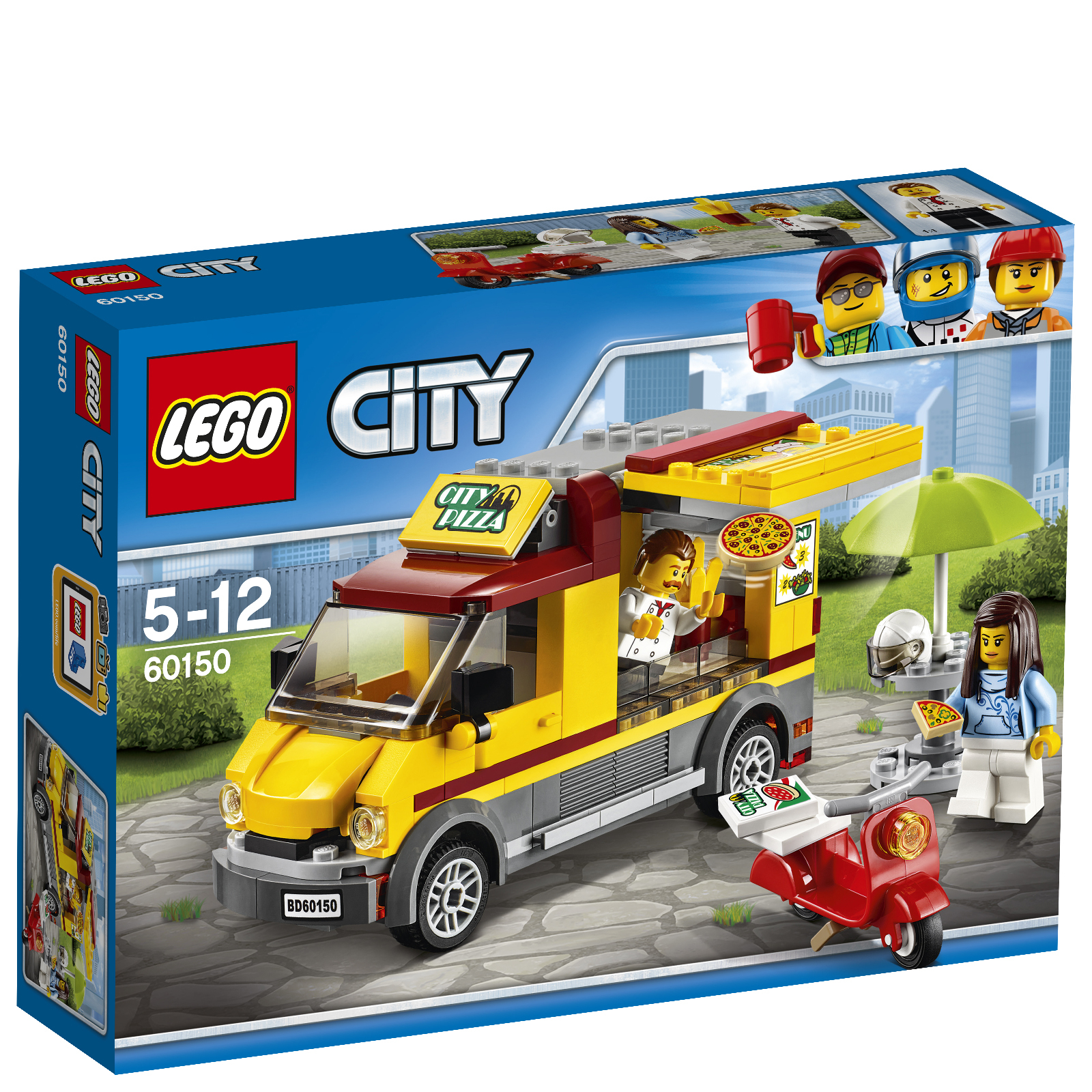 LEGO City: Le camion pizza (60150)