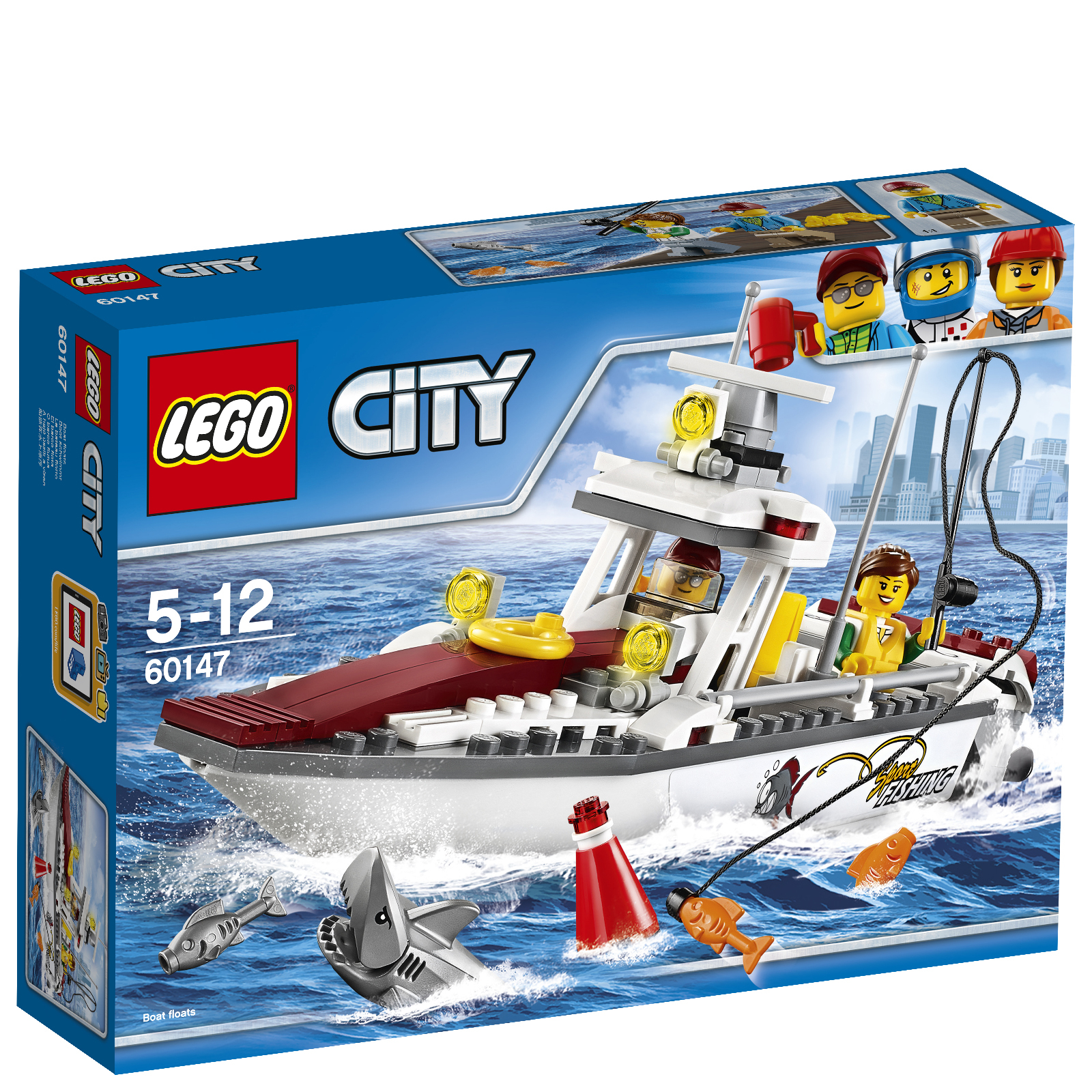 LEGO City: Fishing Boat (60147)