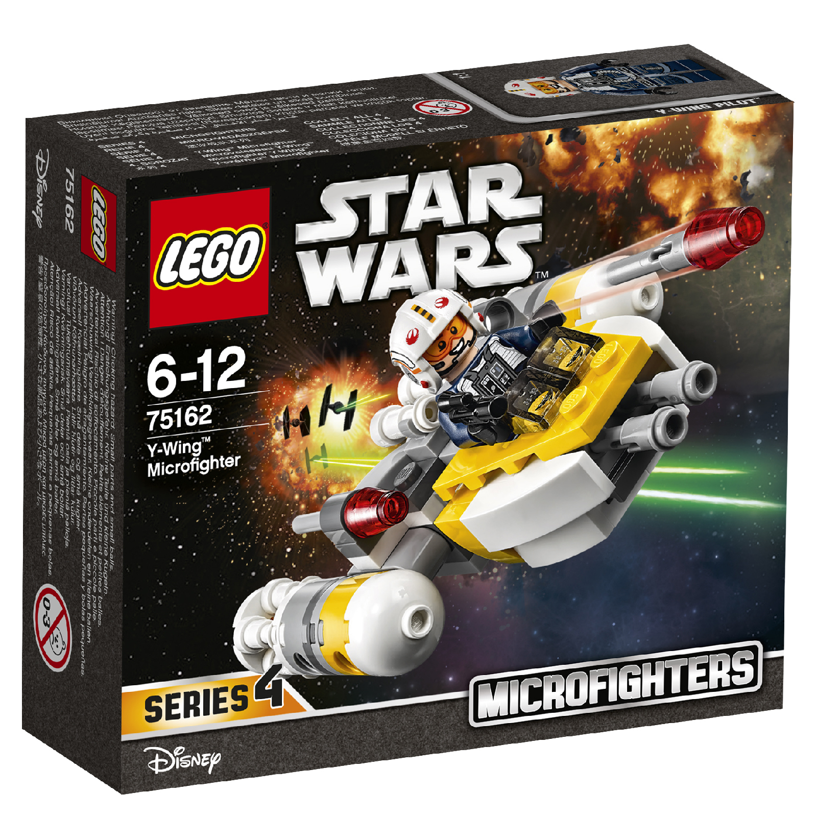 LEGO Star Wars: TIE Striker™ Microfighter (75162)