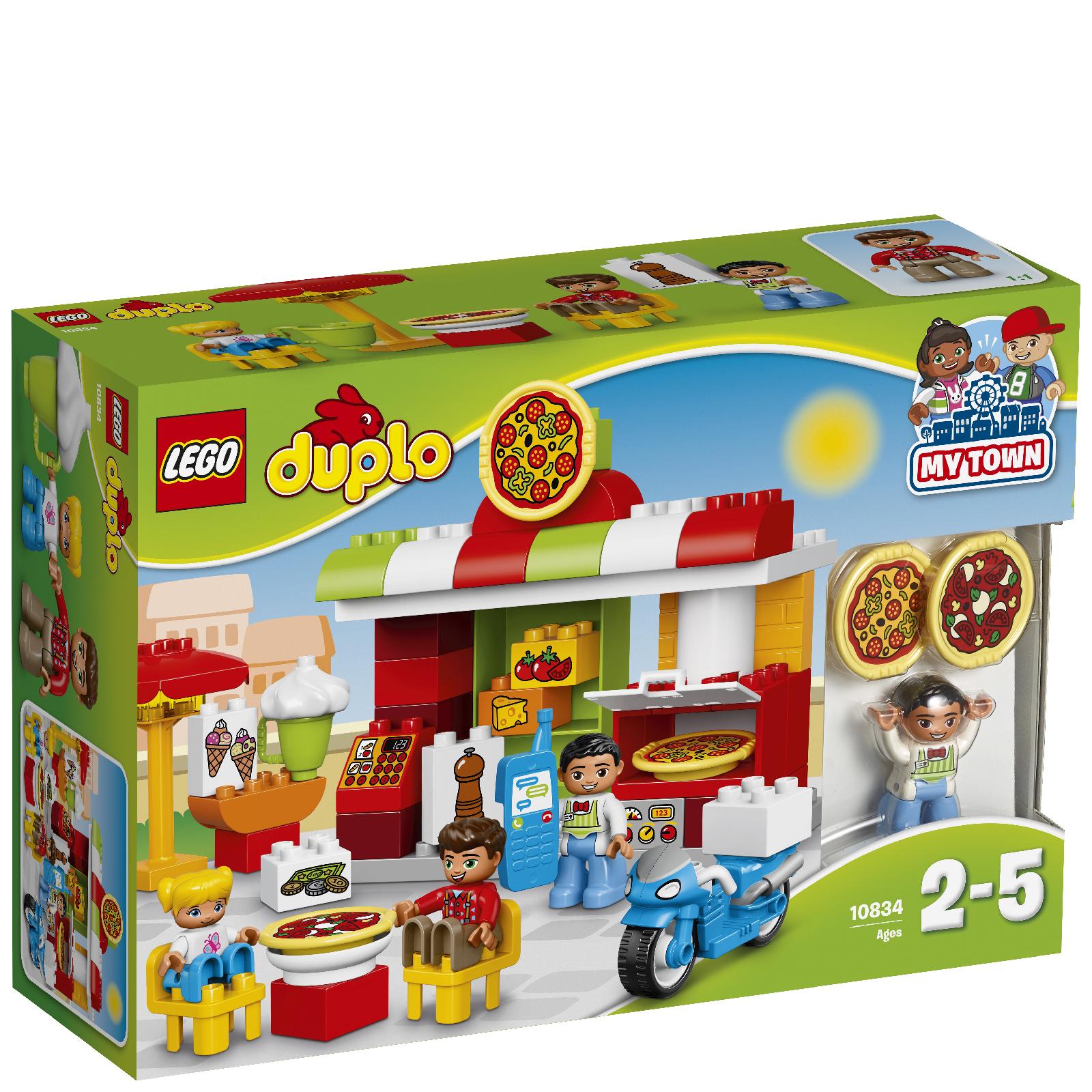 Lego Duplo Pizzeria 10834 Toys Zavvi