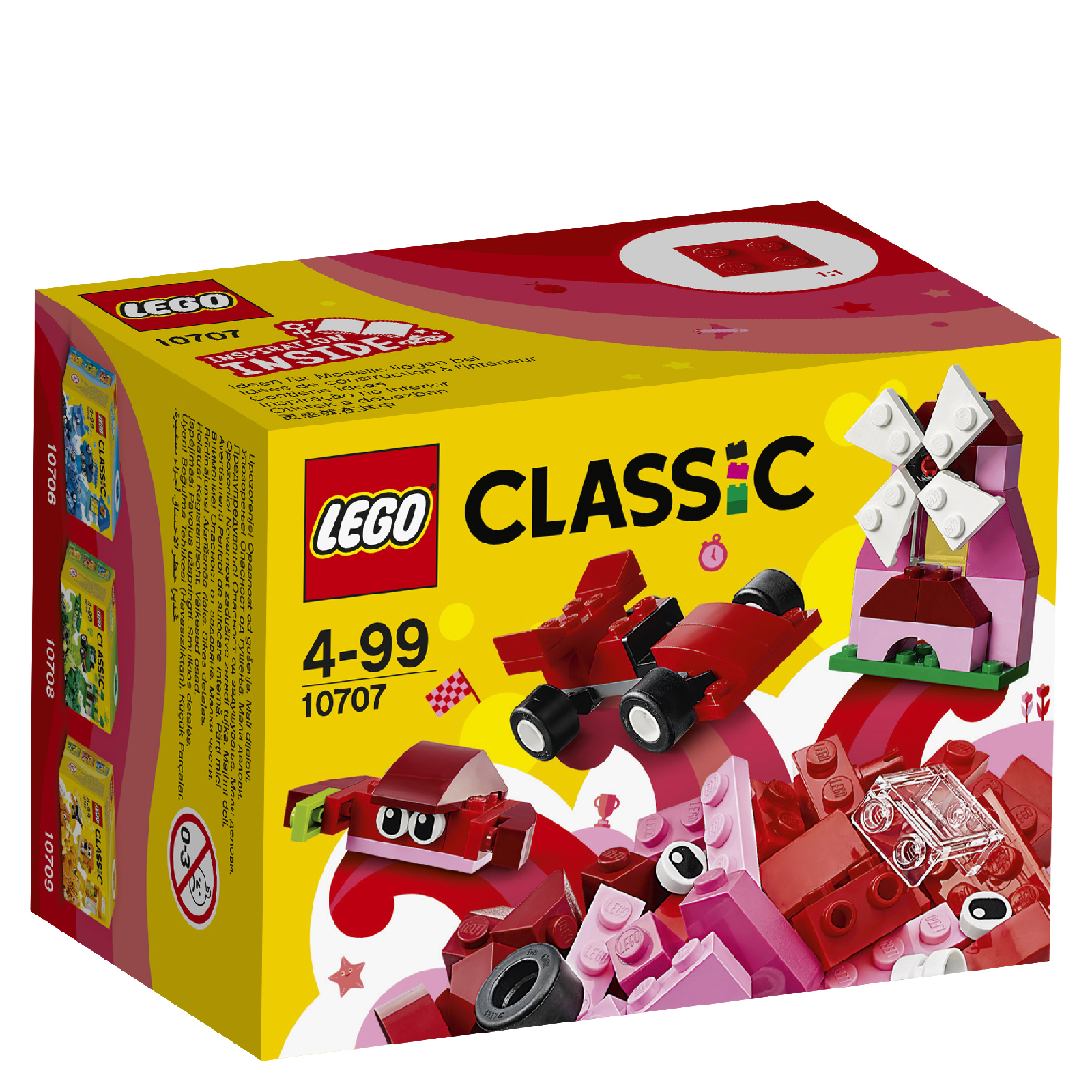 LEGO Classic: Red Creativity Box (10707)