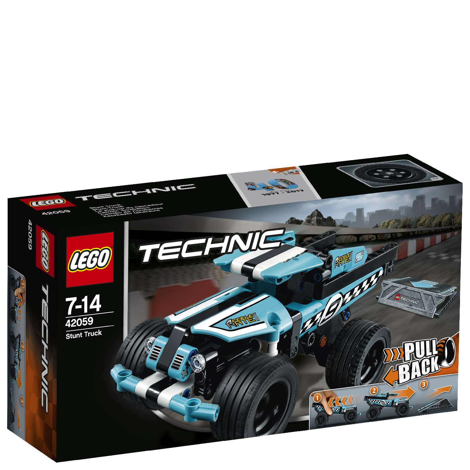 LEGO Technic: Le pick-up du cascadeur (42059)