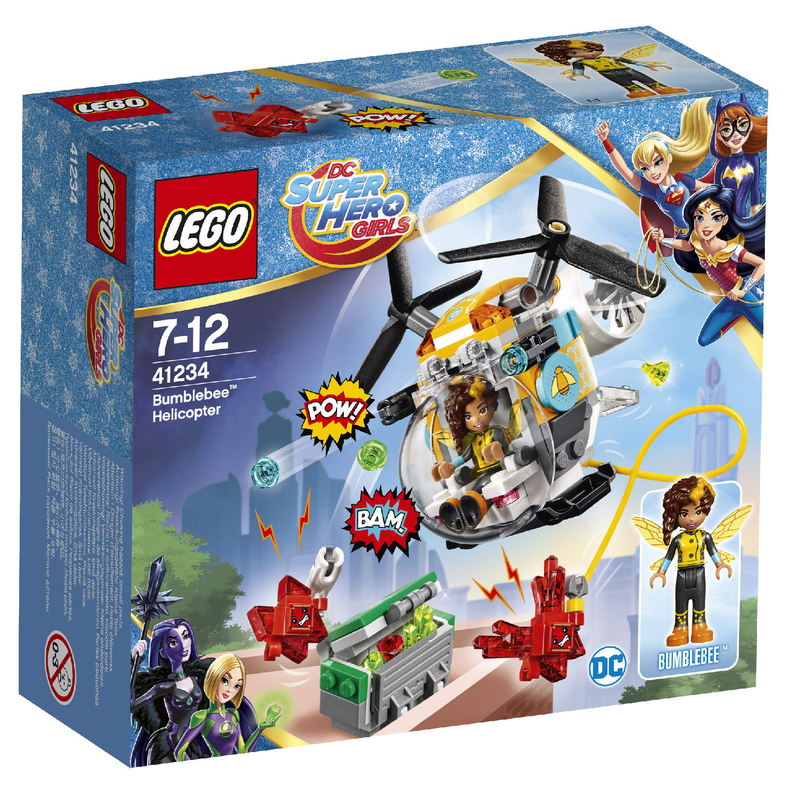 LEGO DC Superhero Girls: Bumblebee Helicopter (41234)
