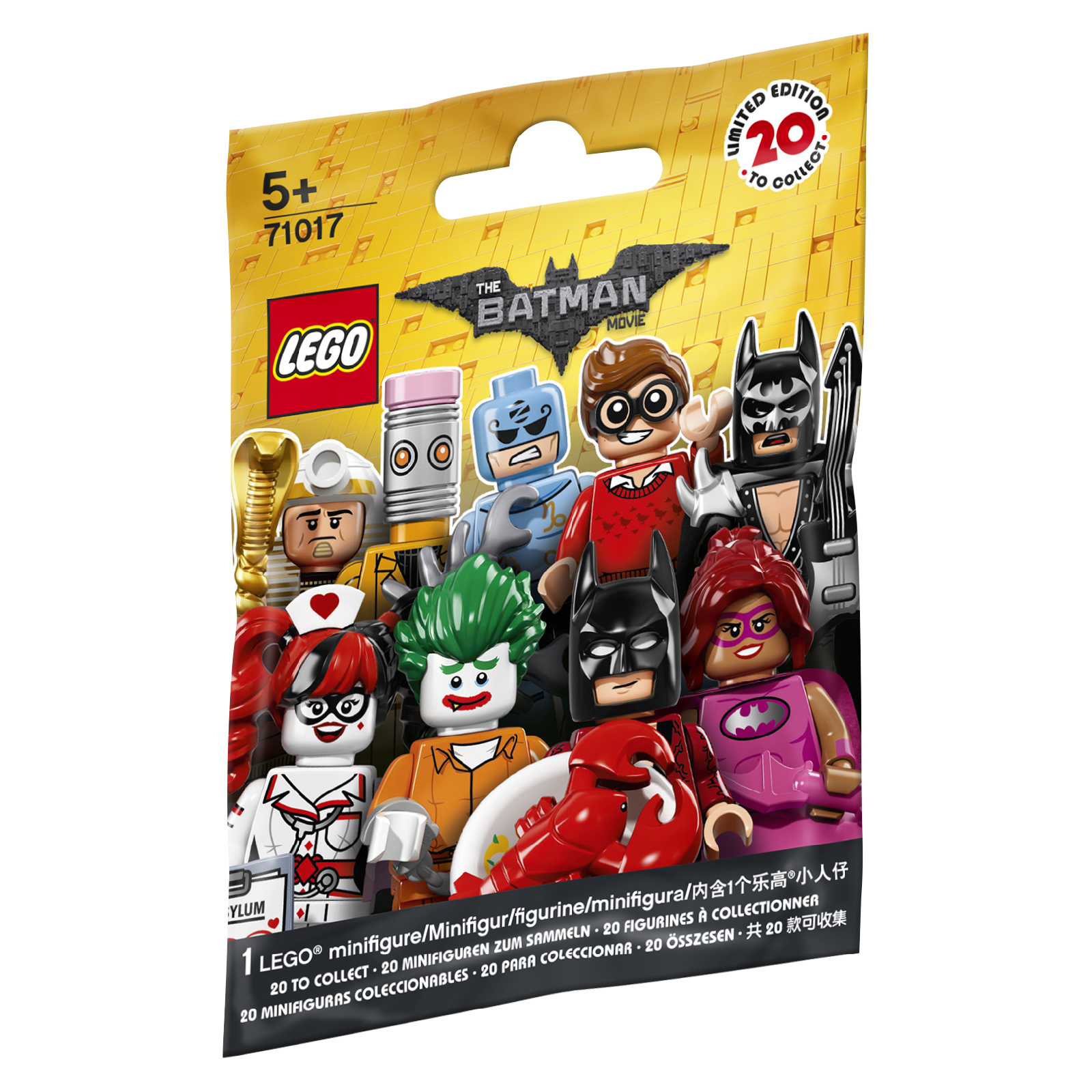 LEGO Baukästen & Sets Lego® 71017 Minifiguren The Batman Movie