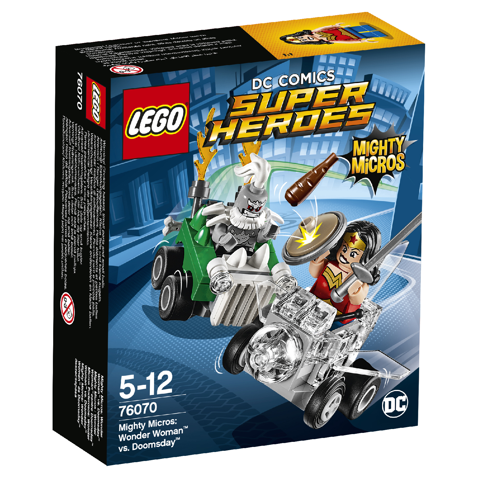 LEGO Superheroes Mighty Micros: Wonder Woman™ contre Doomsday (76070)