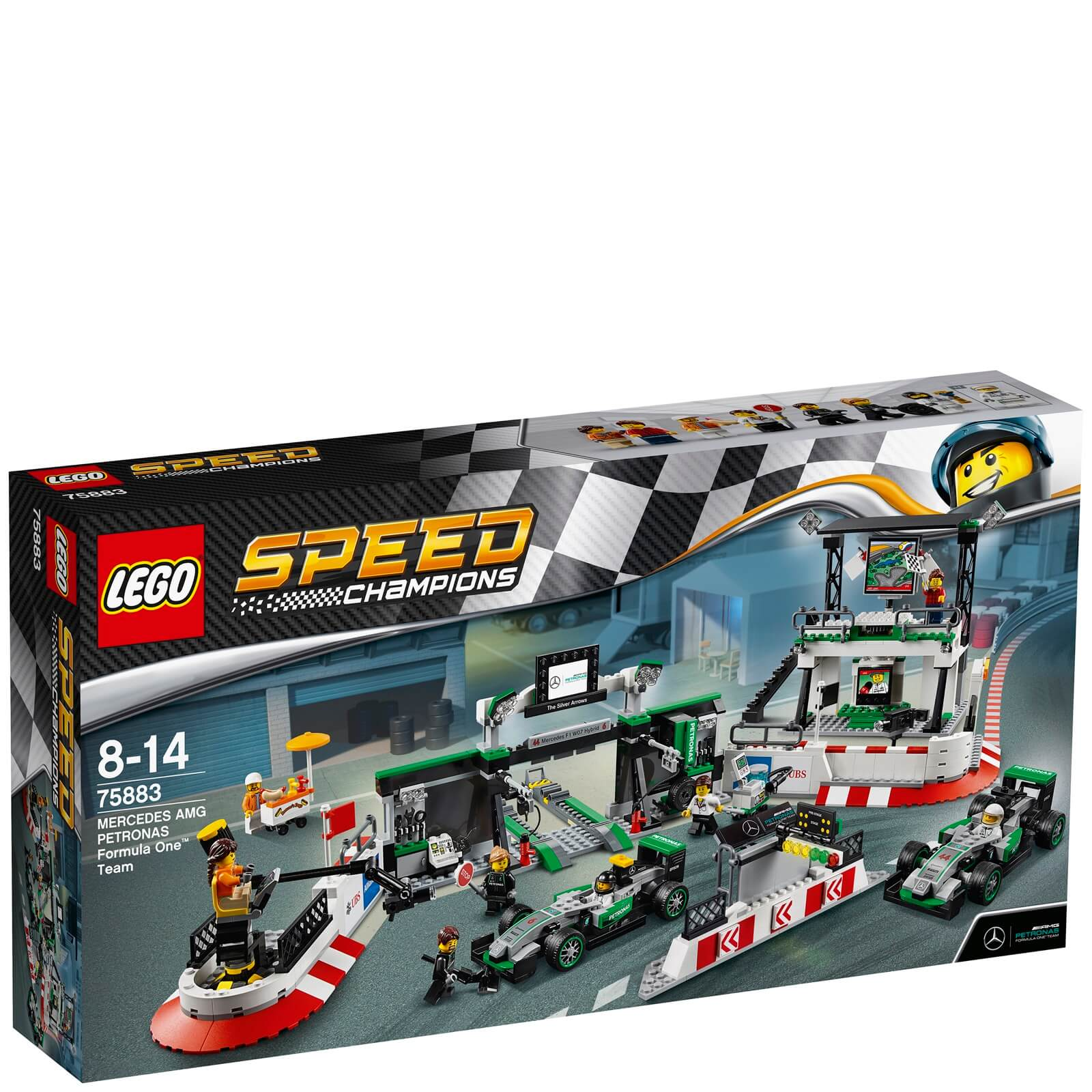 LEGO Speed Champions: Mercedes AMG Petronas Formula One™ Team (75883)