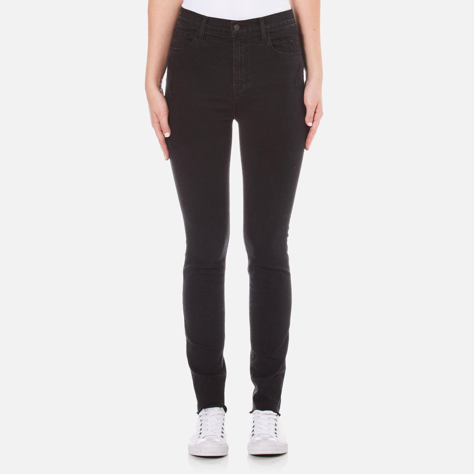 d523ec541da15 ... J Brand Women s Carolina Super High Rise Supersoft Photoready Skinny  Jeans - Exile