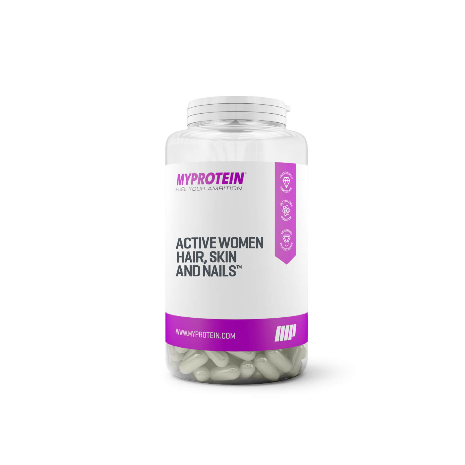 Active Women Hair, Skin and Nails (Vegan) - 30 Capsules