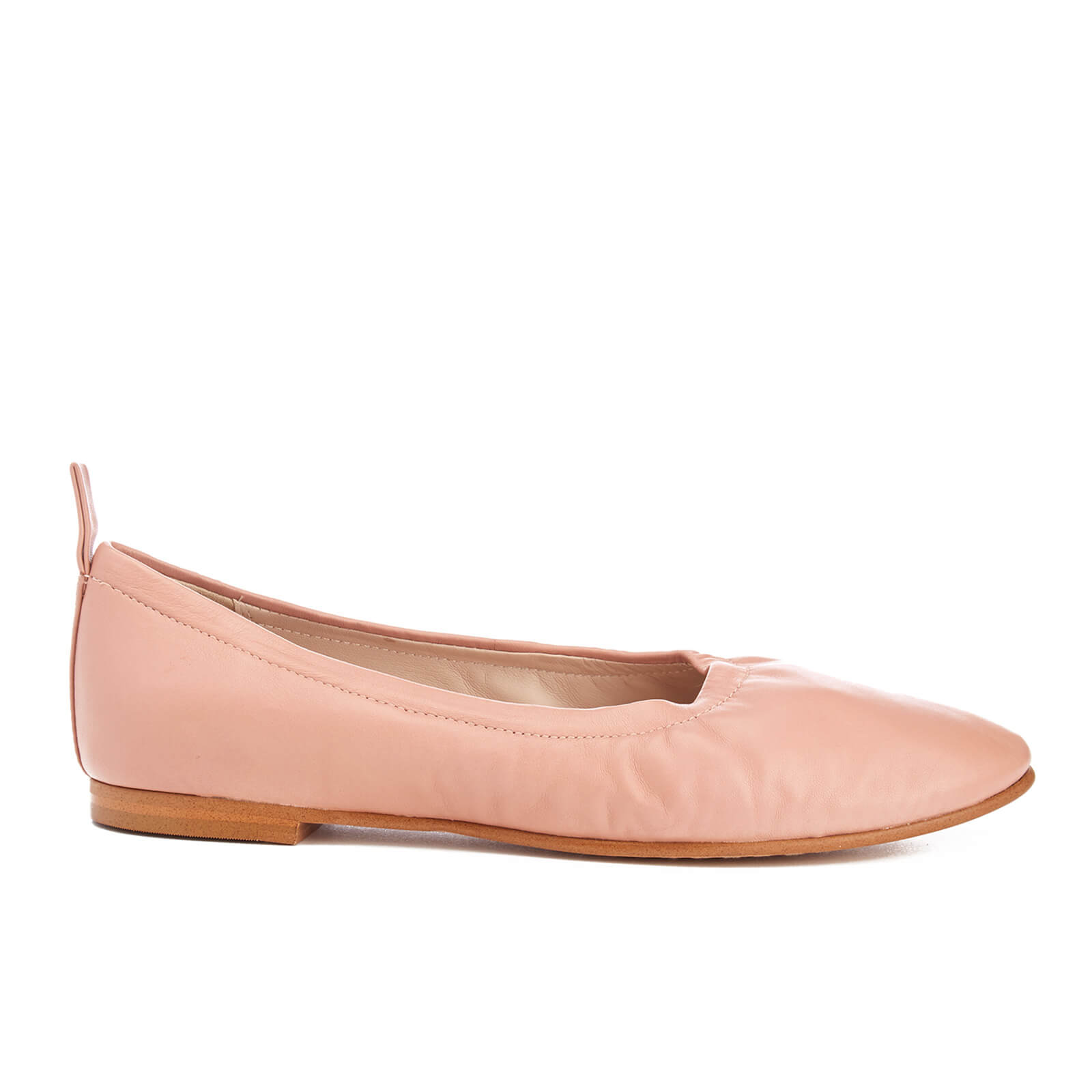 b55a69c7647c9 Clarks Women's Grace Mia Leather Ballet Flats - Dusty Pink | FREE UK  Delivery | Allsole