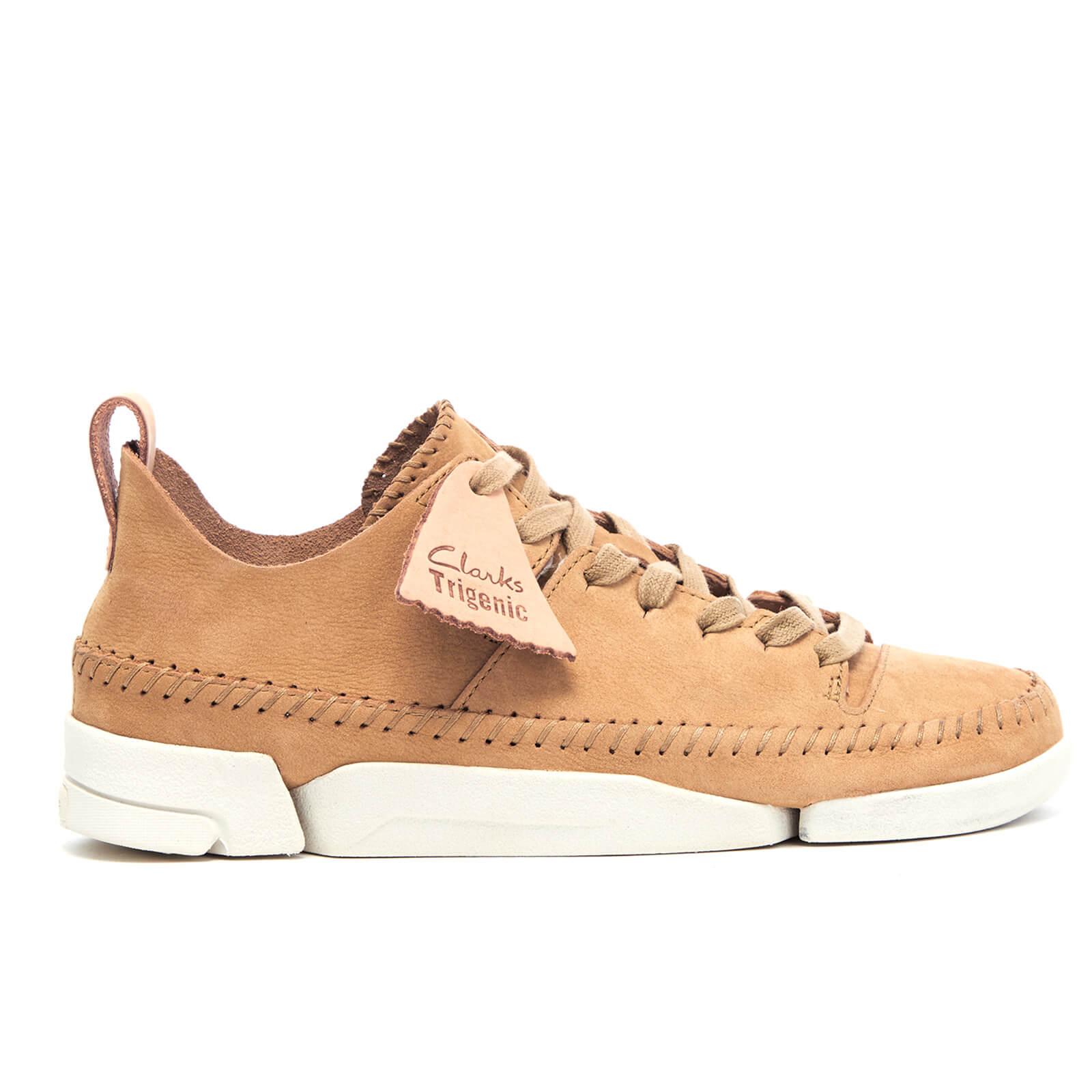 0e98219f Clarks Originals Women's Trigenic Flex Shoes - Maple Nubuck | FREE UK  Delivery | Allsole