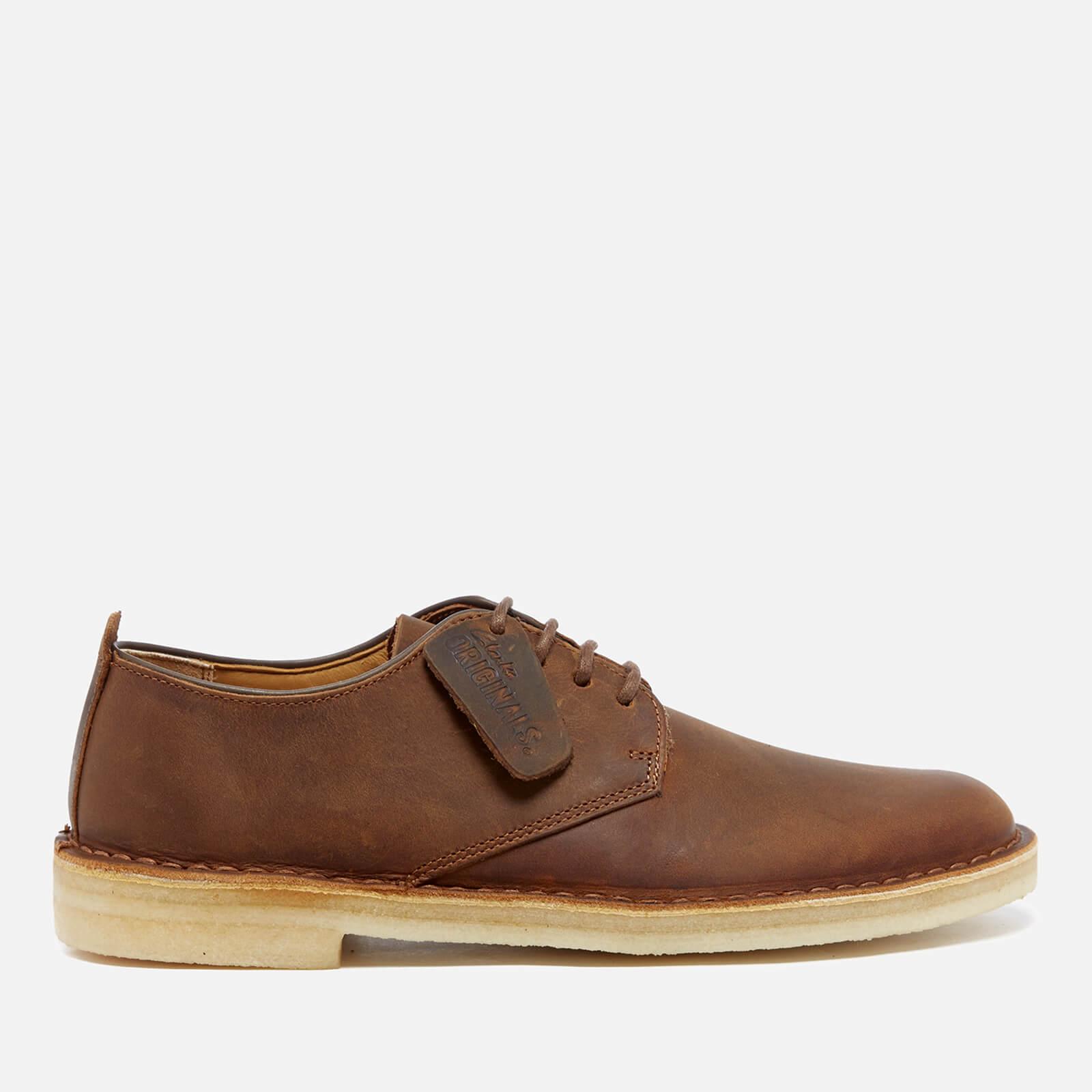 d453c11e Clarks Originals Men's Desert London Derby Shoes - Beeswax Leather