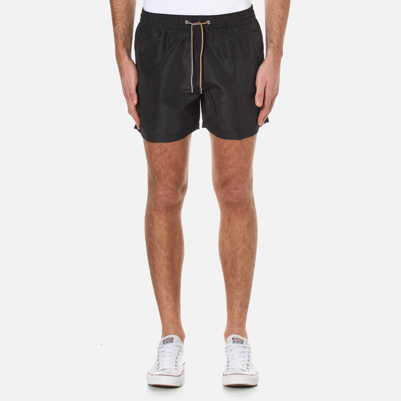 13c6a6f018 Paul Smith Men's Classic Swim Shorts - Black - Free UK Delivery over £50
