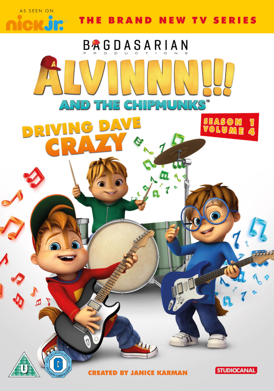 Alvin & The Chipmunks: Driving Dave Crazy