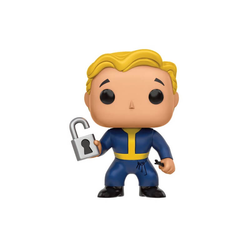 Figurine Boy Locksmith Fallout Vault Funko Pop!