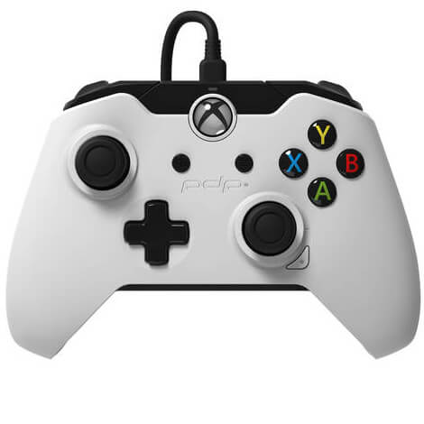 PDP White Wired Controller Xbox One