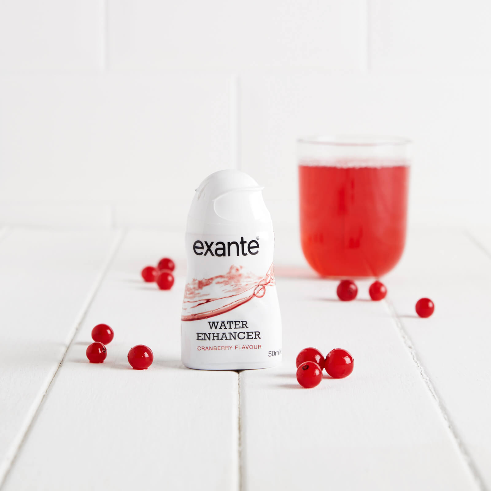 Exante Water Enhancer Cranberry Flavoured