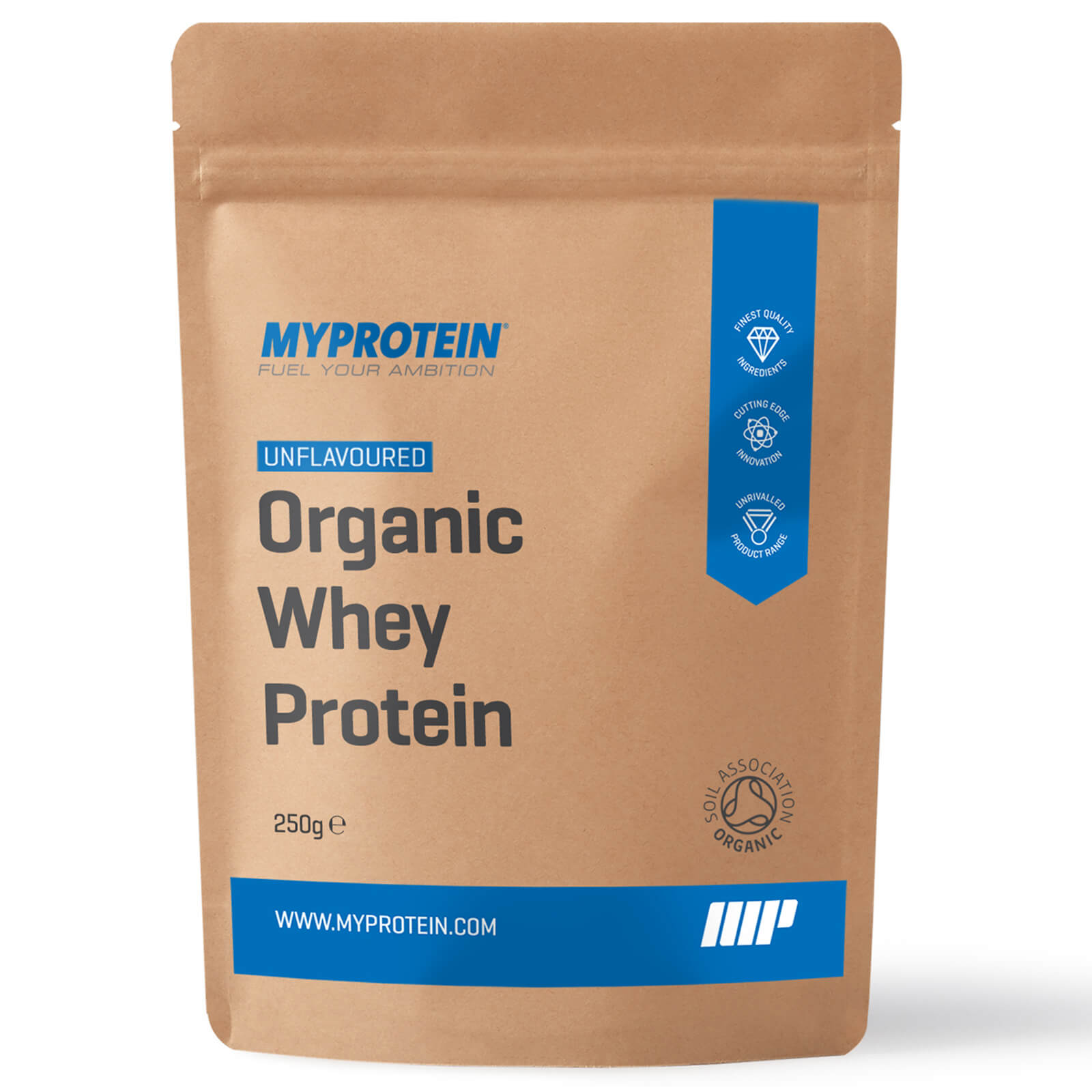 Organic Whey Protein, 250g, Unflavoured