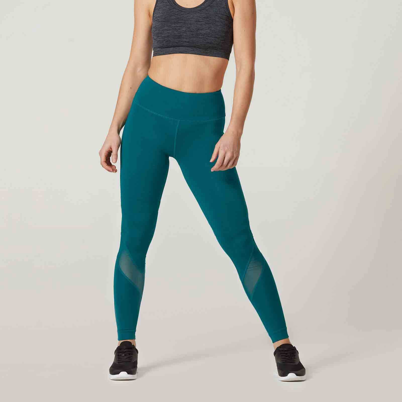 Myprotein Heartbeat Full-Length Leggings - Teal, XS