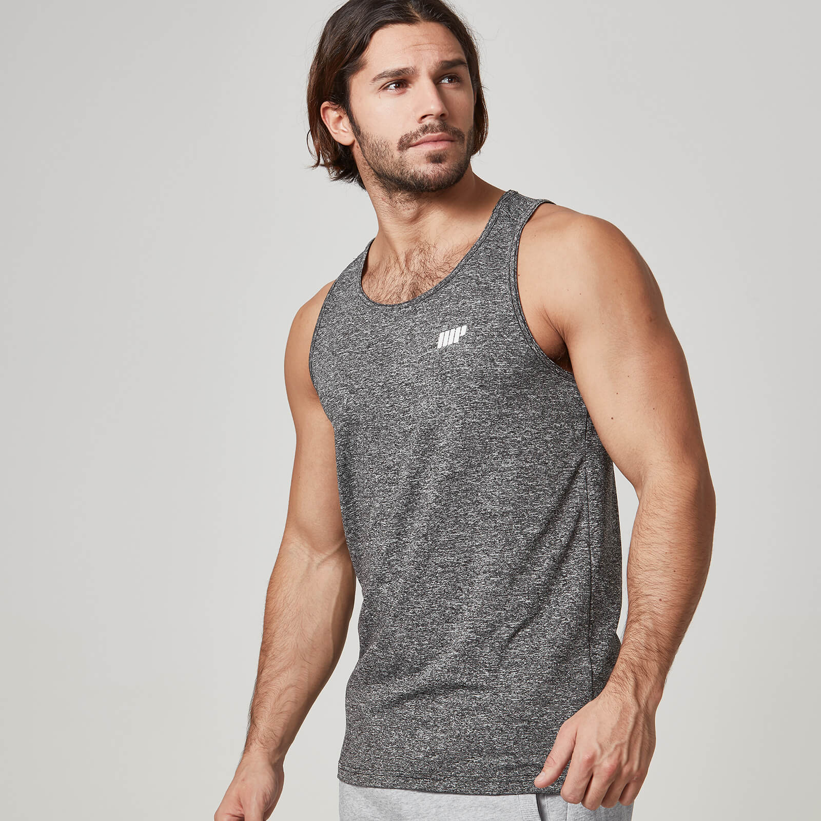 Myprotein Dry Tech Tank Top - Grey, XL