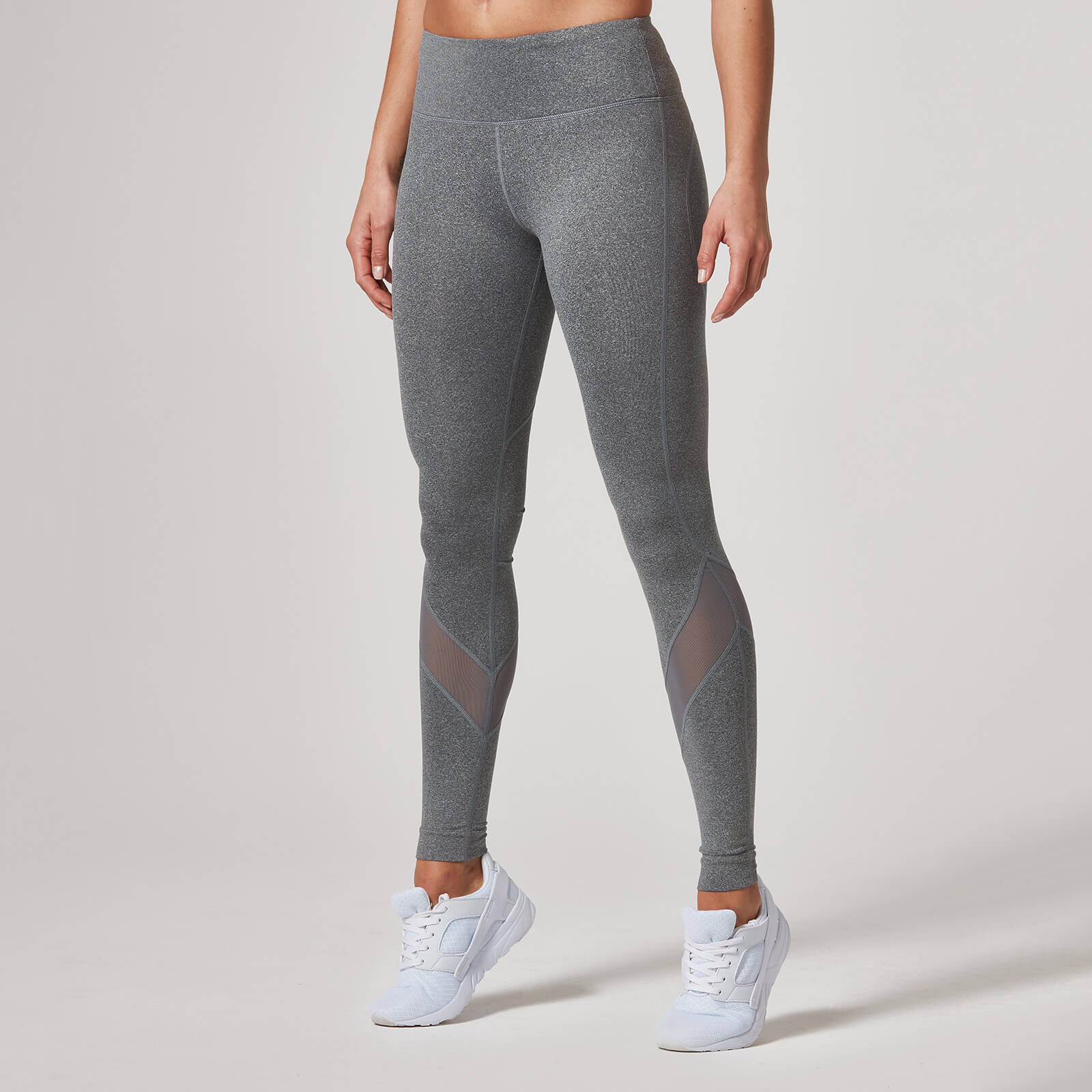Myprotein Heartbeat Full-Length Leggings - Grey, XS