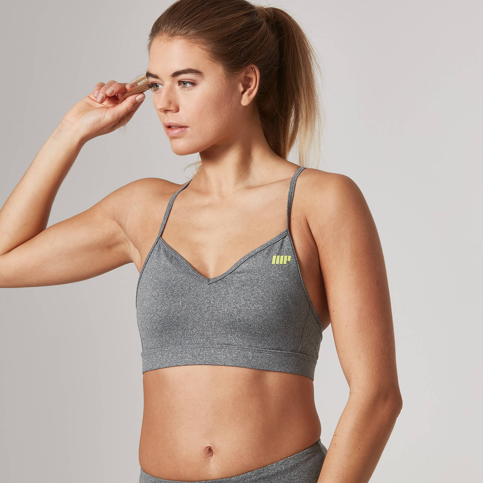 Myprotein Heartbeat Sports Bra - Grey, XL
