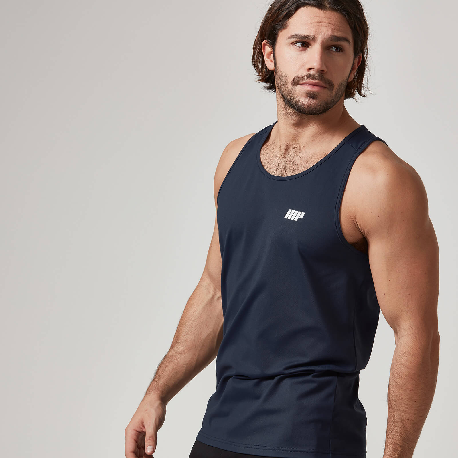 Myprotein Dry Tech Tank Top - Navy, XXL