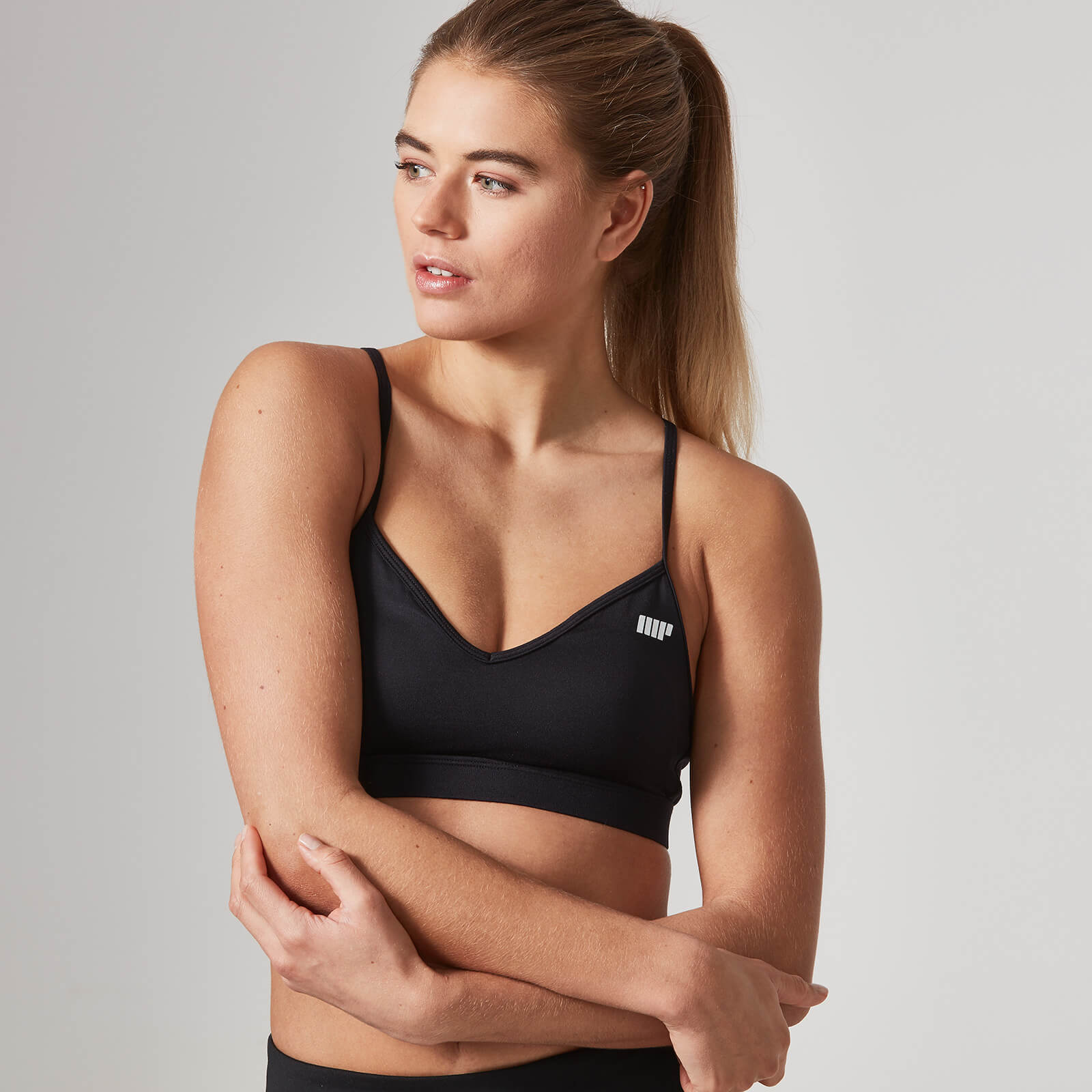 Heartbeat Sports Bra - Black, XL