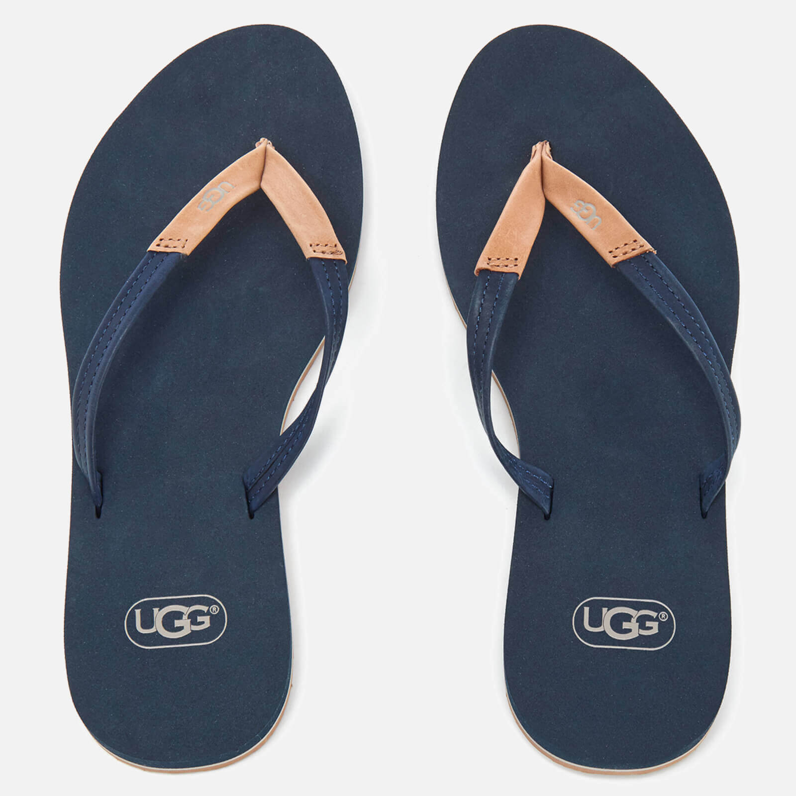 af6f9f1e1bd UGG Women's Magnolia Flip Flops - Navy
