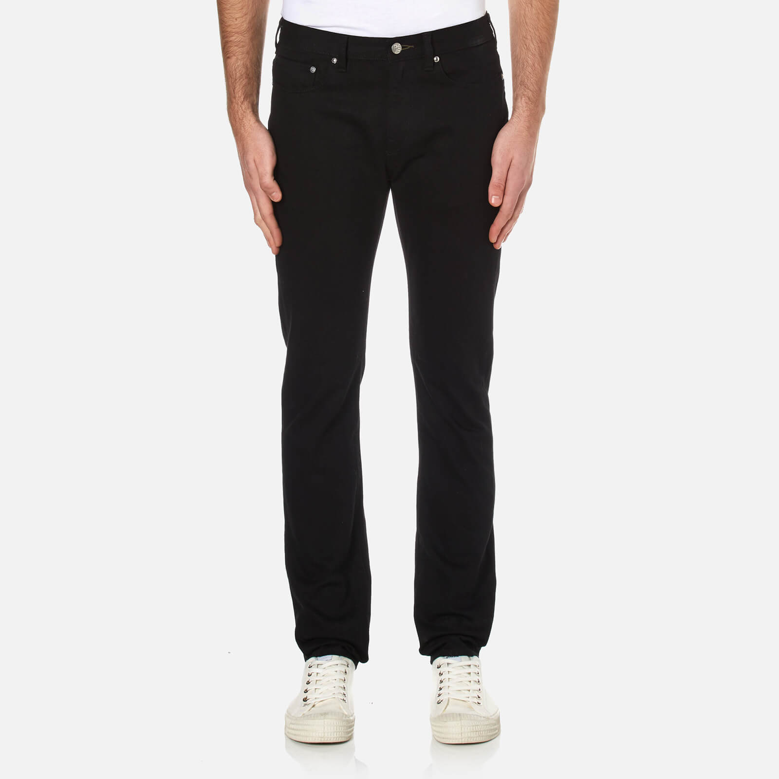 d03dfd77 PS Paul Smith Men's Slim Fit Jeans - Black - Free UK Delivery over £50