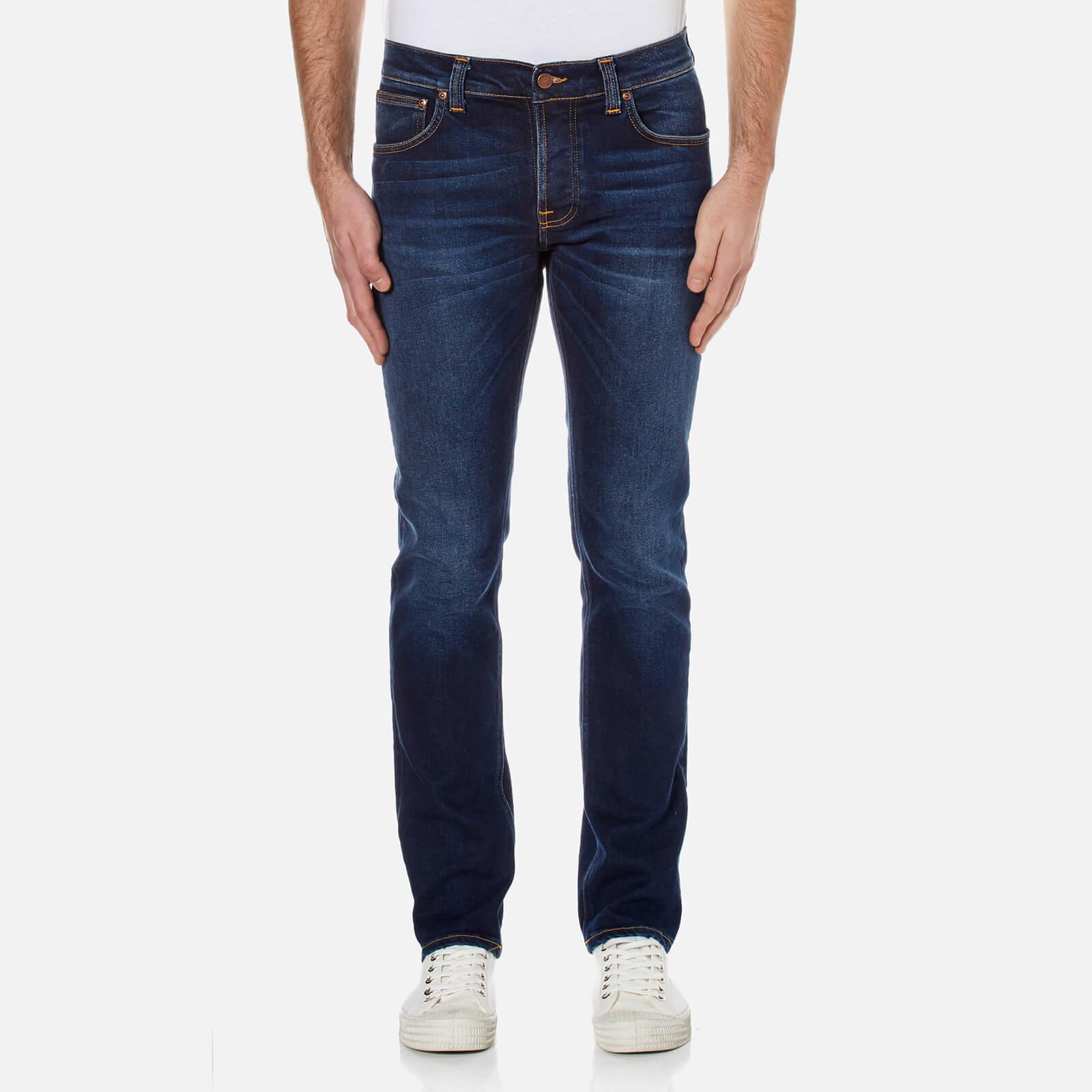 7be38b29ca92 Nudie Jeans Men s Grim Tim Slim Straight Jeans - Used Big Twill ...