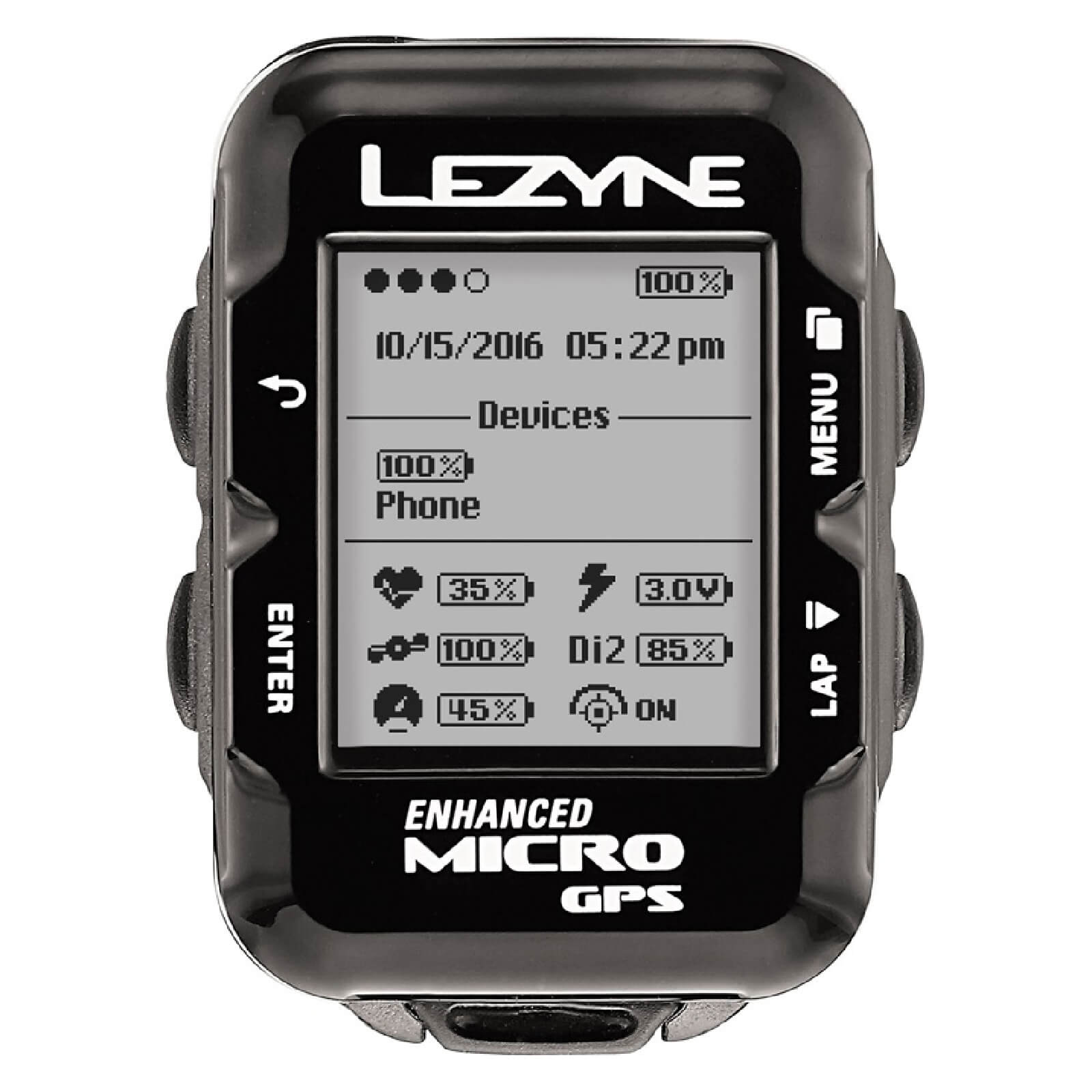 Lezyne Micro GPS Cycle Computer Loaded Bundle