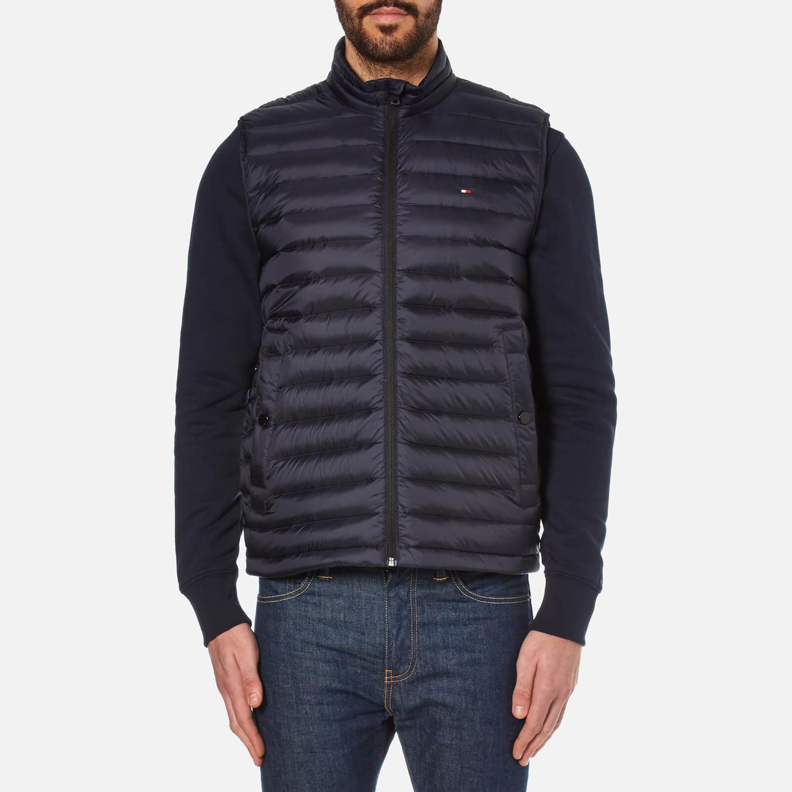 391dd0725 Tommy Hilfiger Men's Lightweight Packable Down Vest - Midnight