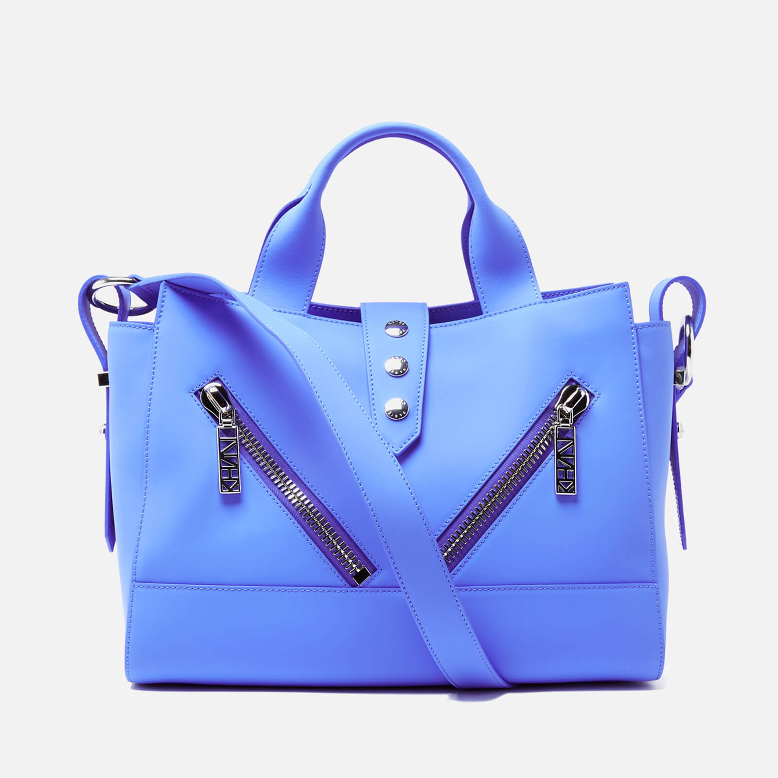729b296f50 KENZO Women's Kalifornia Medium Tote Bag - Blue - Free UK Delivery over £50
