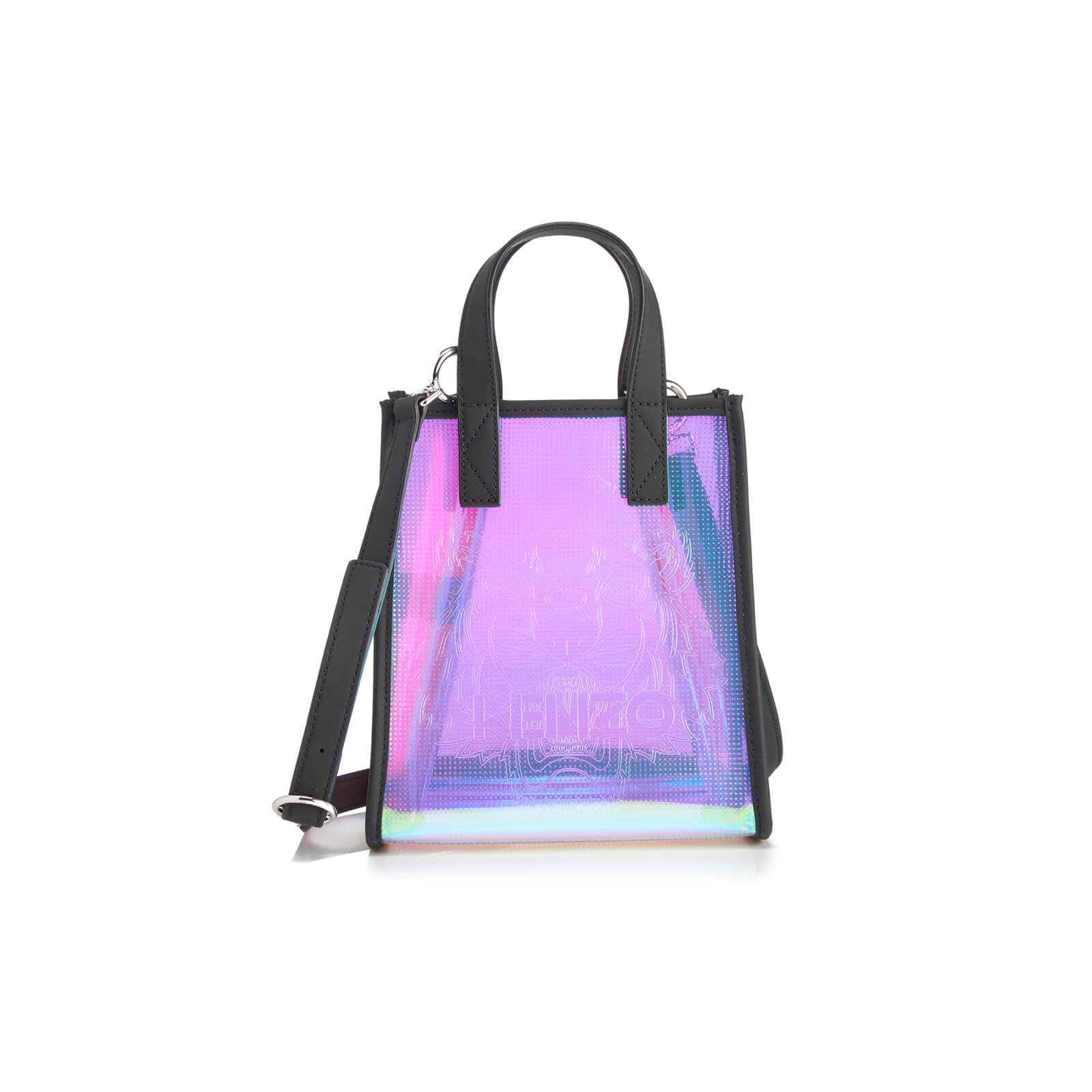 eeea7abe7d KENZO Women's Icons Mini Tiger Tote Bag - Iridescent - Free UK Delivery  over £50