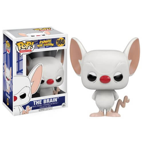 Pinky and The Brain Cartoon The Brain Pop! Vinyl Figure