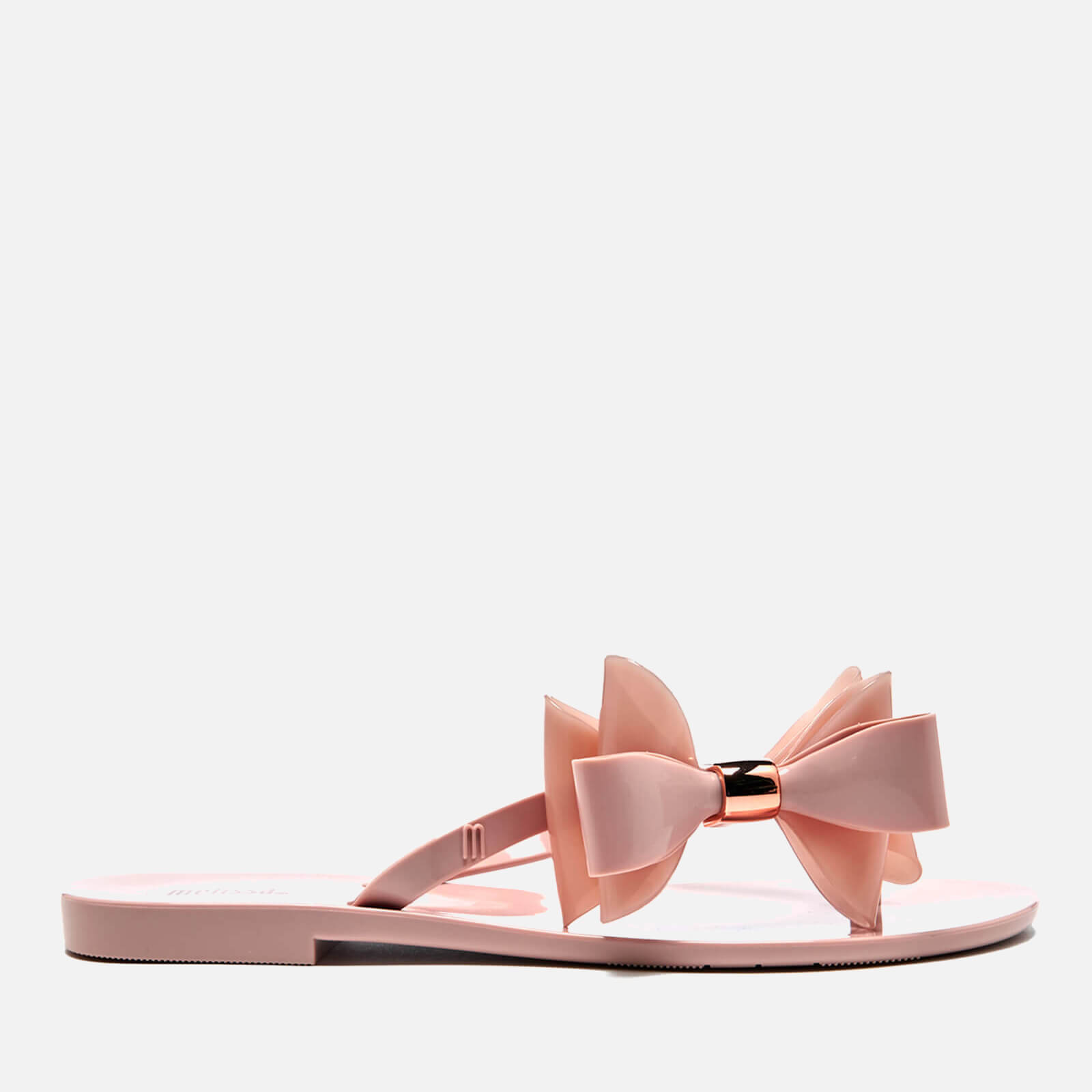 1fc33c4bb289 Melissa Women s Harmonic Cute Flip Flops - Blush - Free UK Delivery over £50